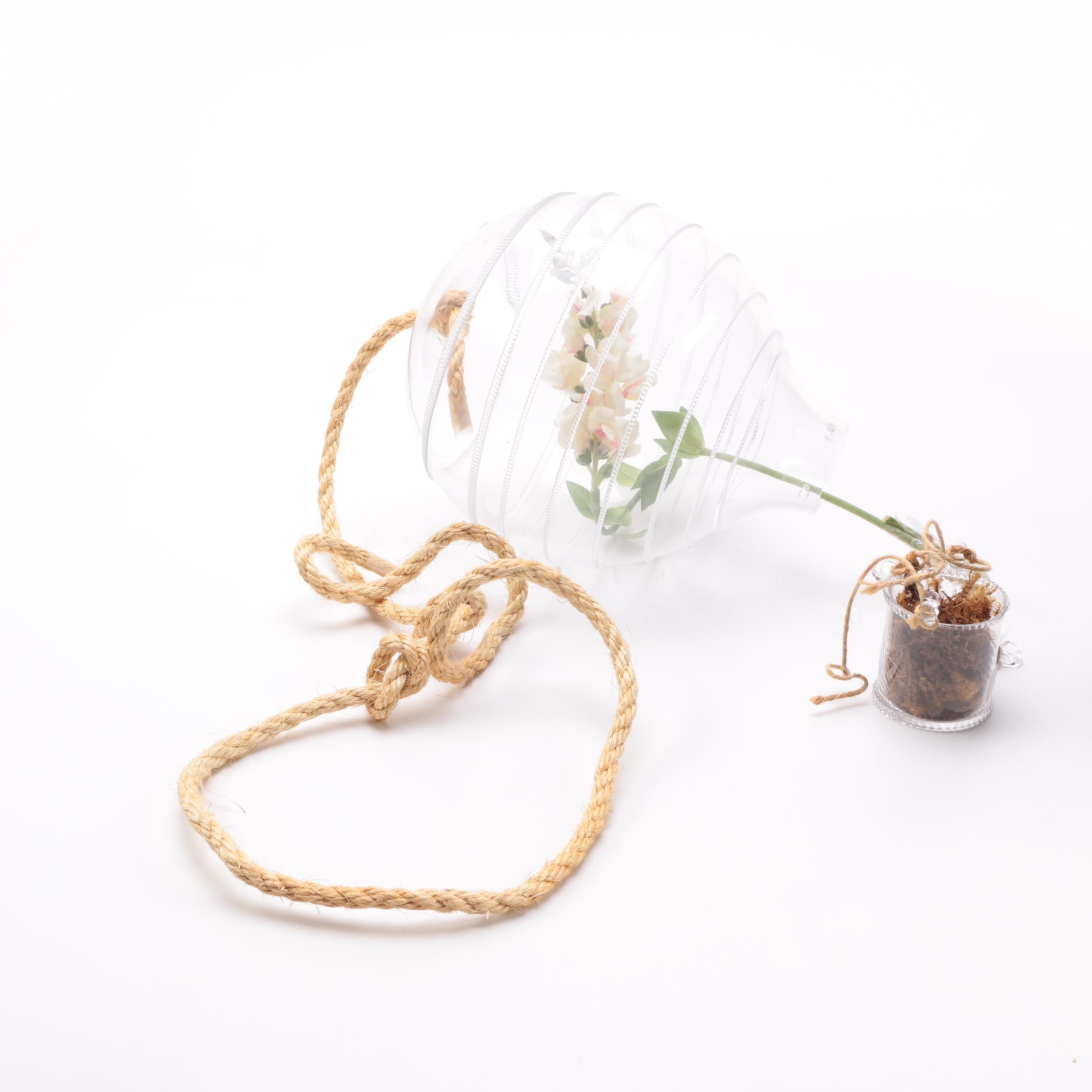 Juliska Glass Hanging Hot Air Ballon