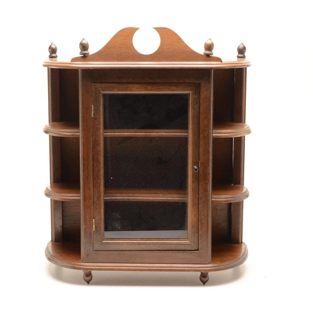 Hanging Wooden Display Case