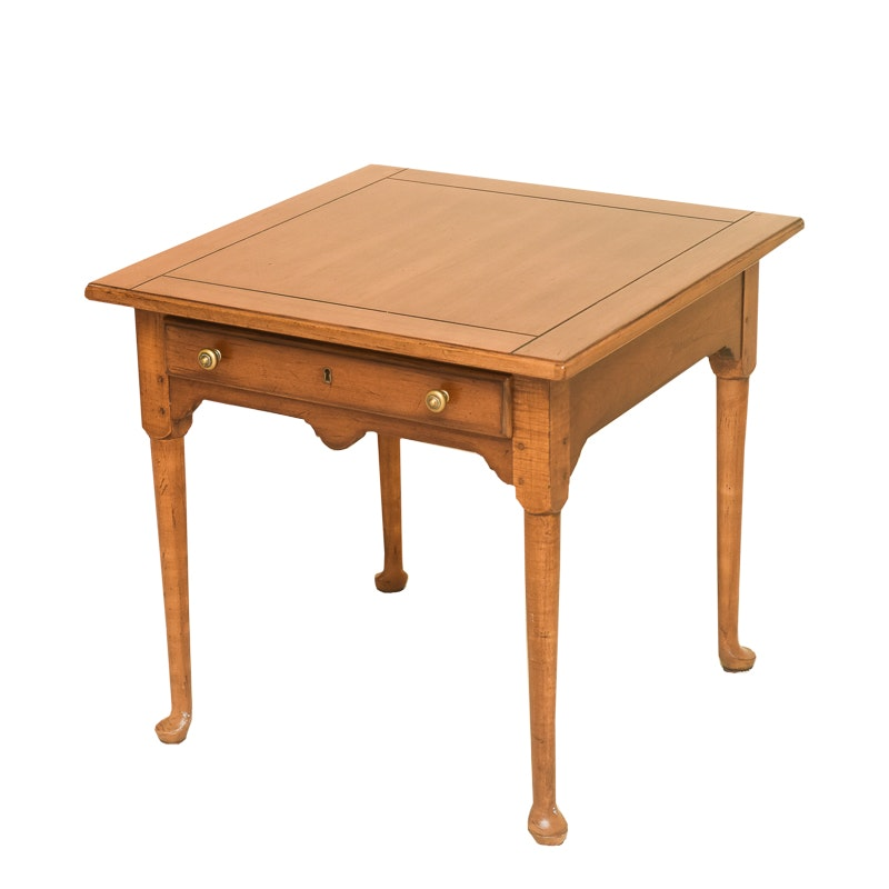 """Country Collect"" End Table by Drexel"