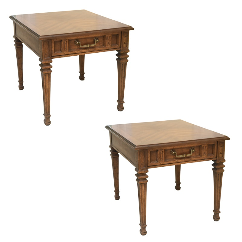 """Pair of """"San Martino"""" End Tables by Drexel"""