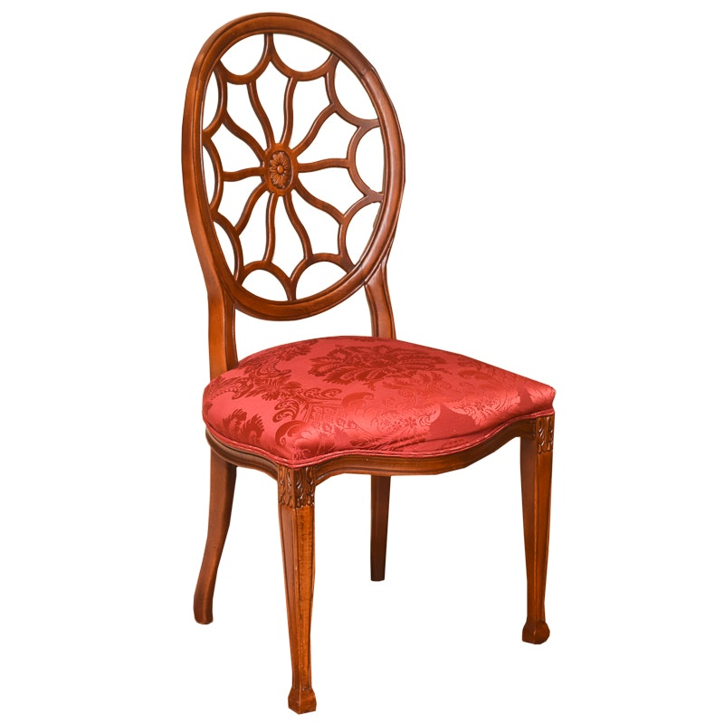 Hepplewhite Style Spider Back Chair by Fairfield