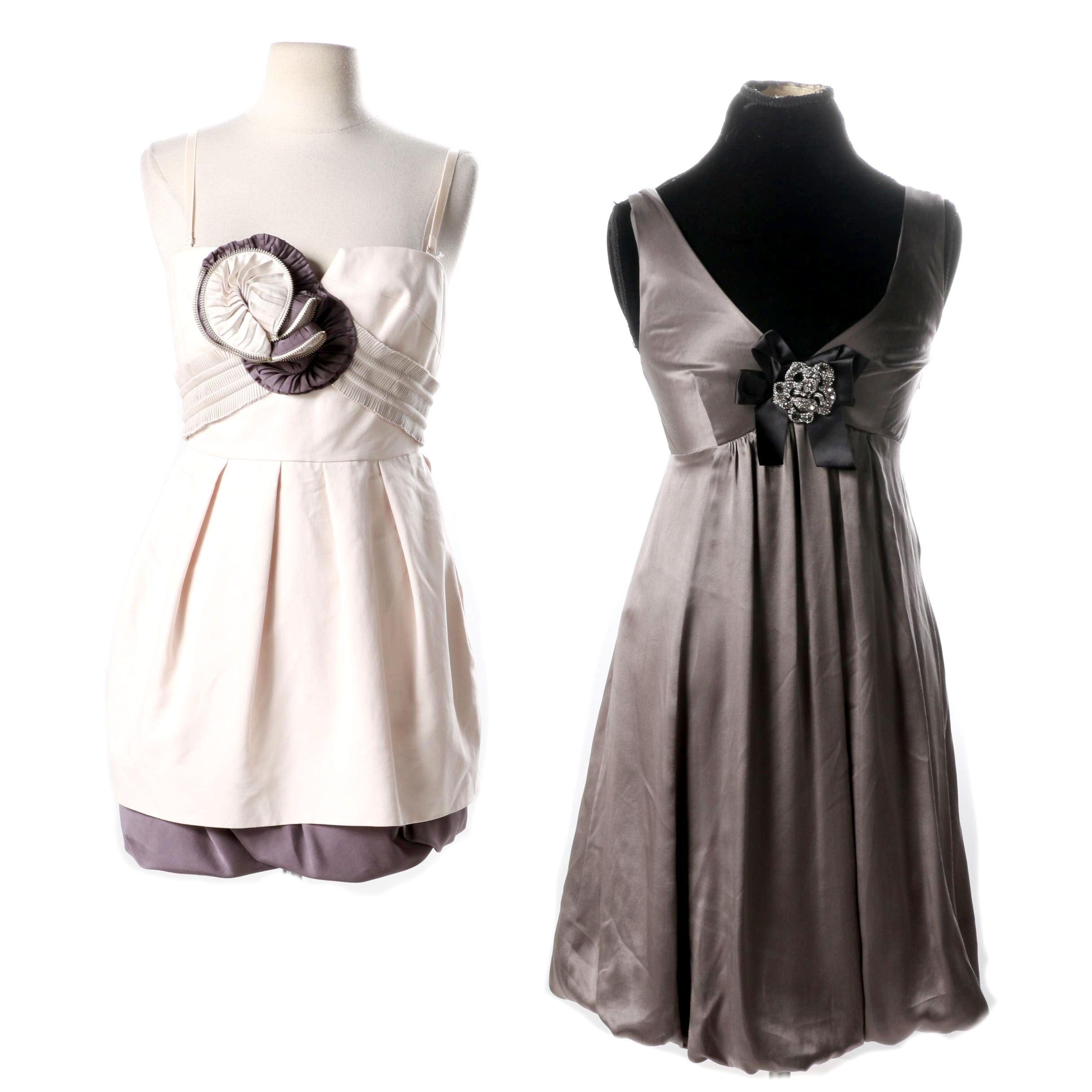 Two BCBG MaxAzaria Dresses