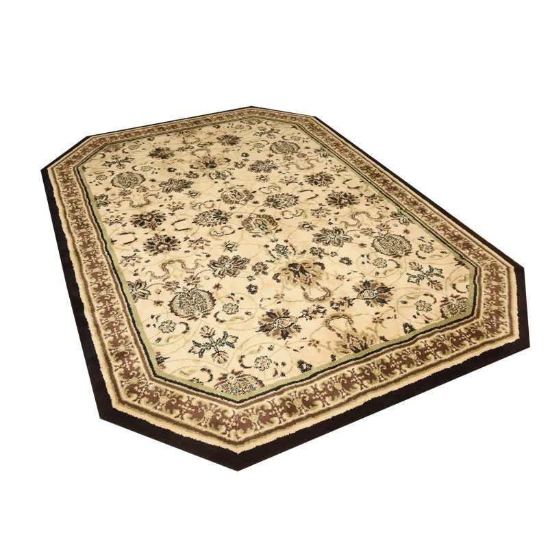 Machine Made Custom Persian Style Area Rug by Masland