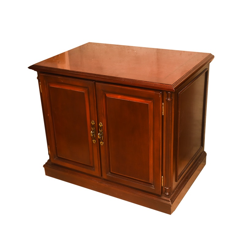 Cherry Stained Credenza