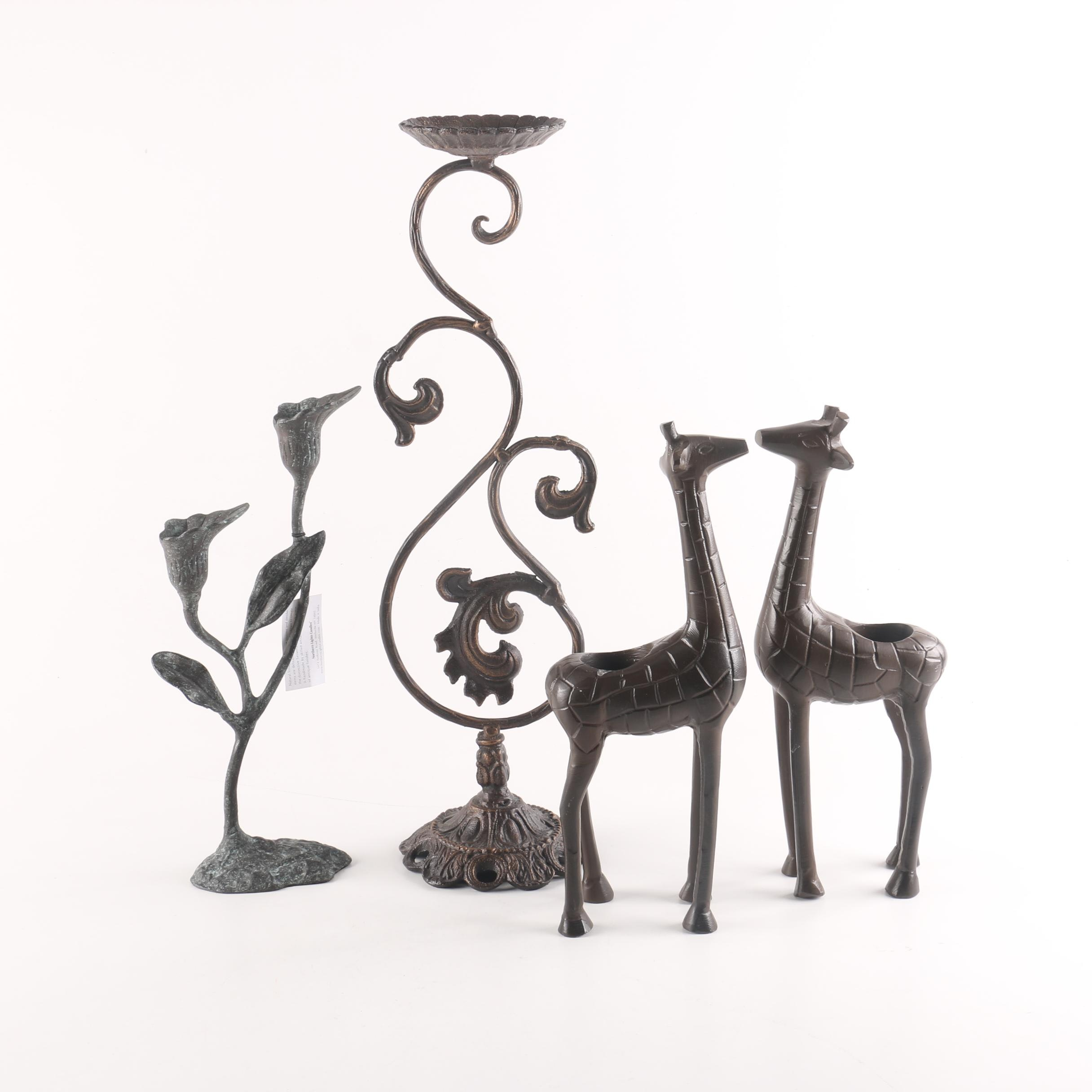 Collection of Candleholders