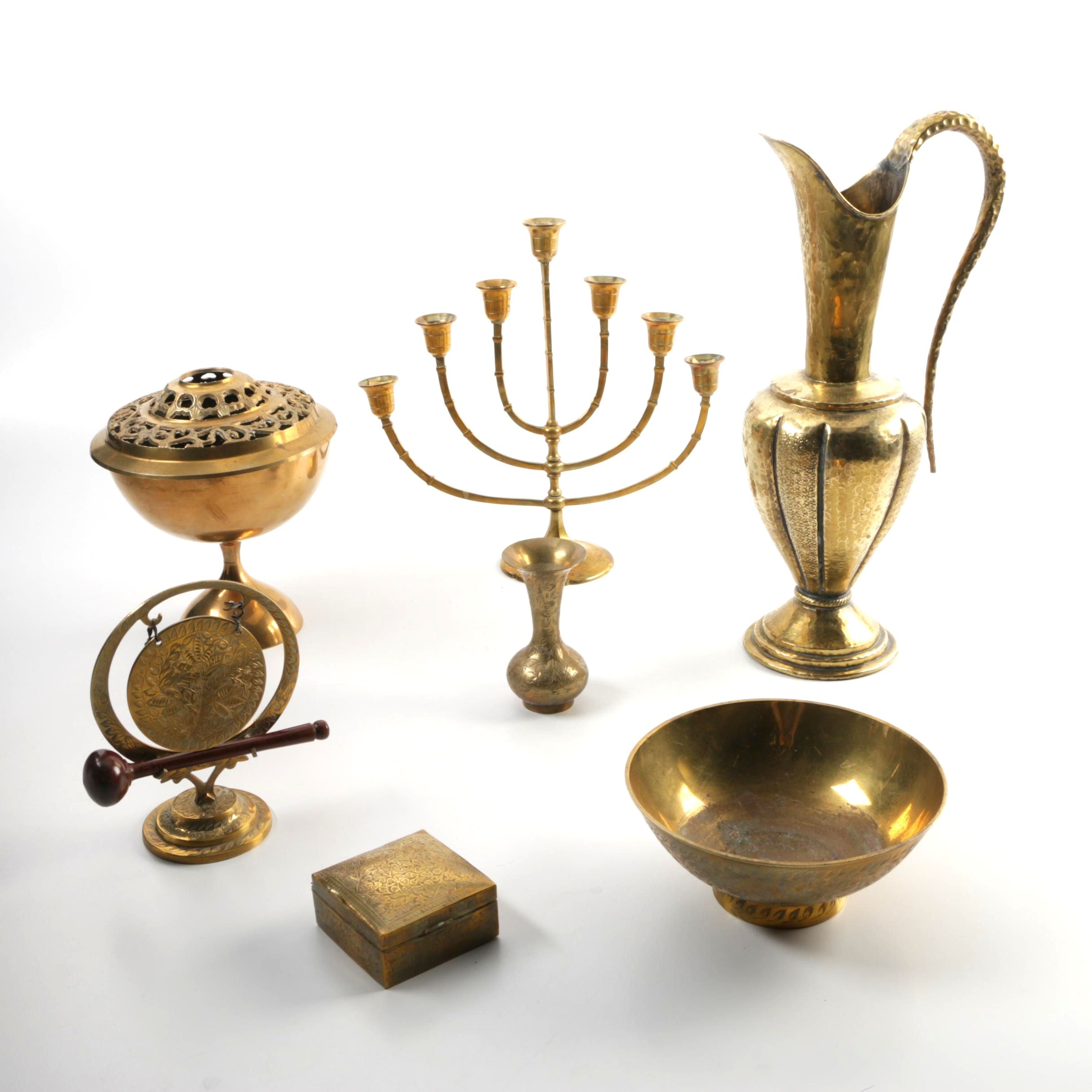 Collection of Brass Brass Decor
