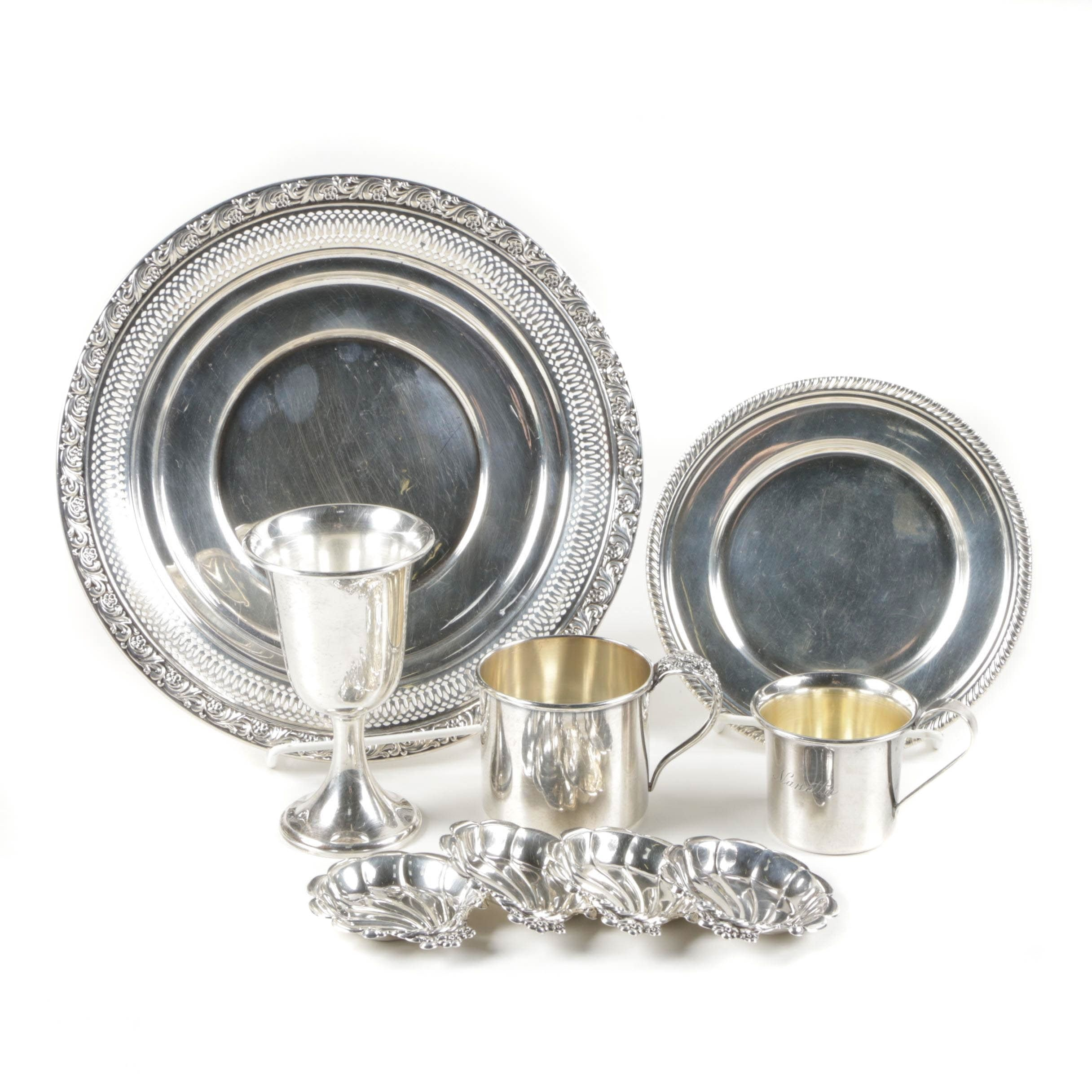 """Lunt """"Modern Victorian"""" and Other Sterling Silver Tableware"""