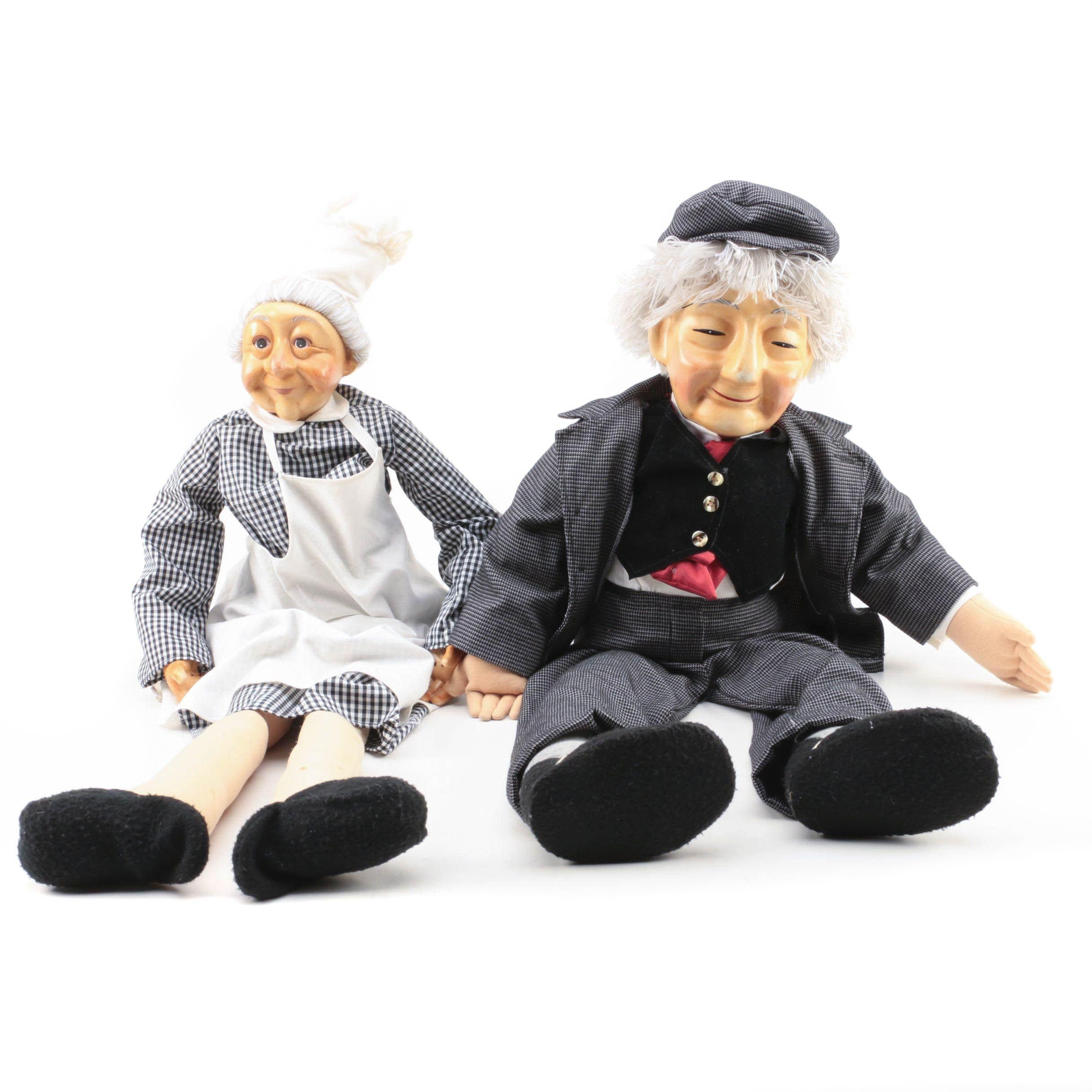 Grandma and Grandpa Dolls