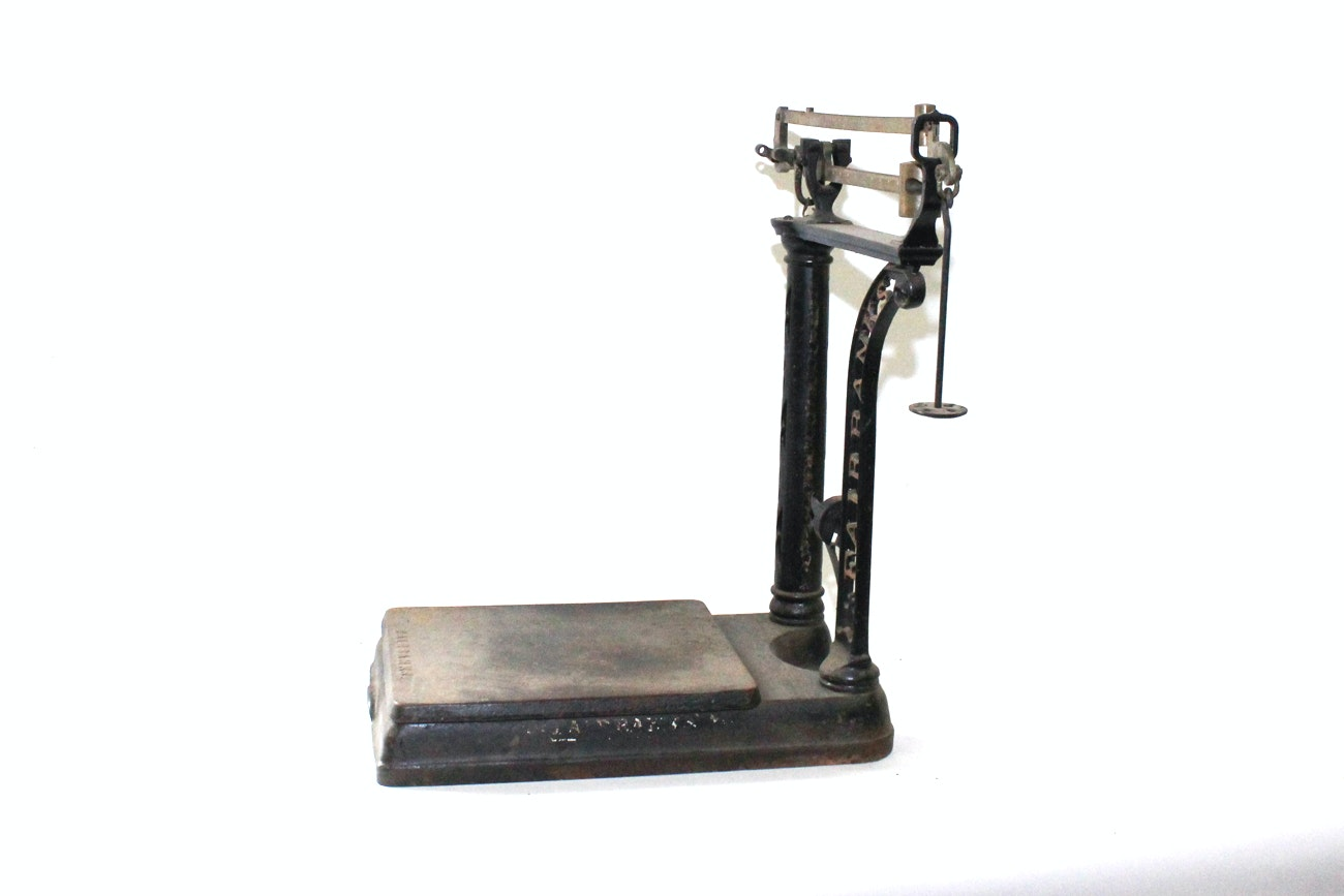 Antique Fairbanks Cast Iron Imperial Grocer Scale