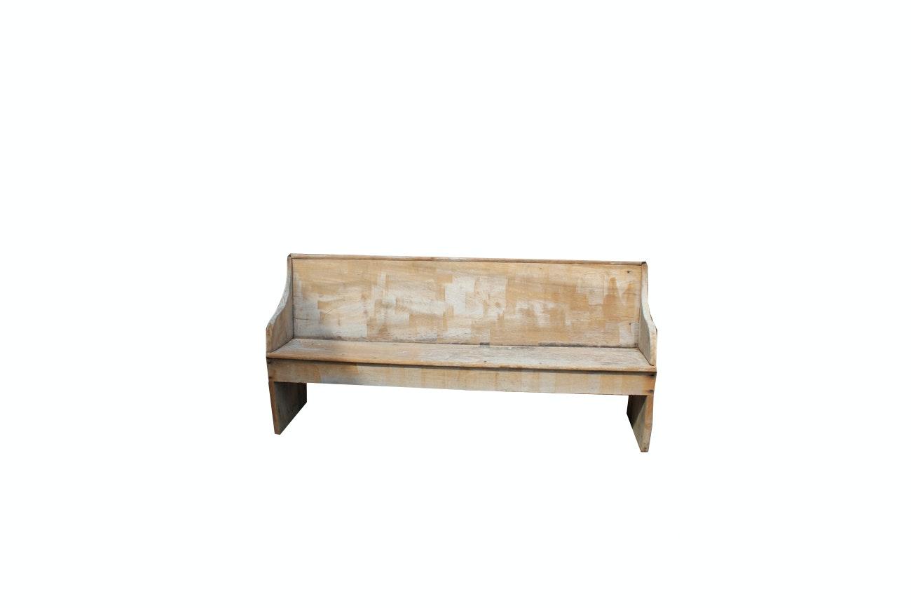 Vintage Primitive Bench