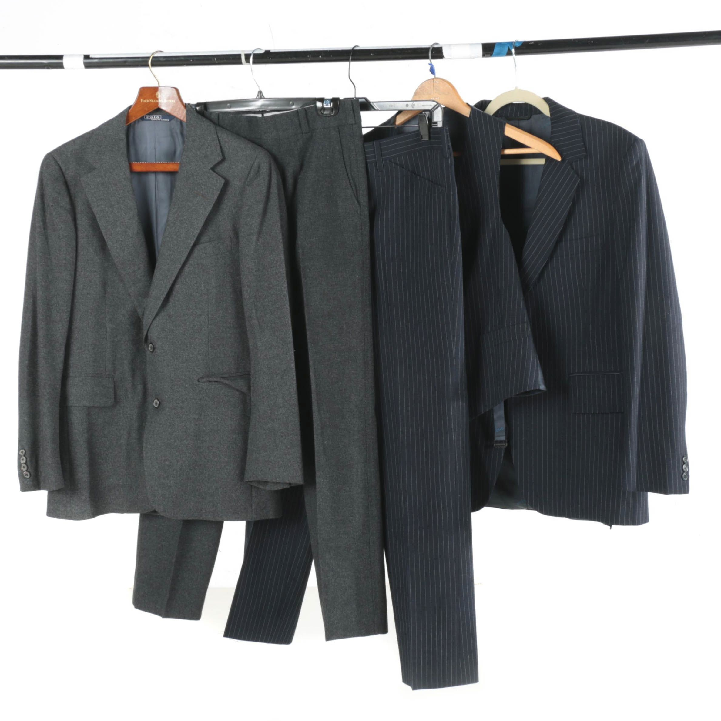 Men's Suits Including Givenchy