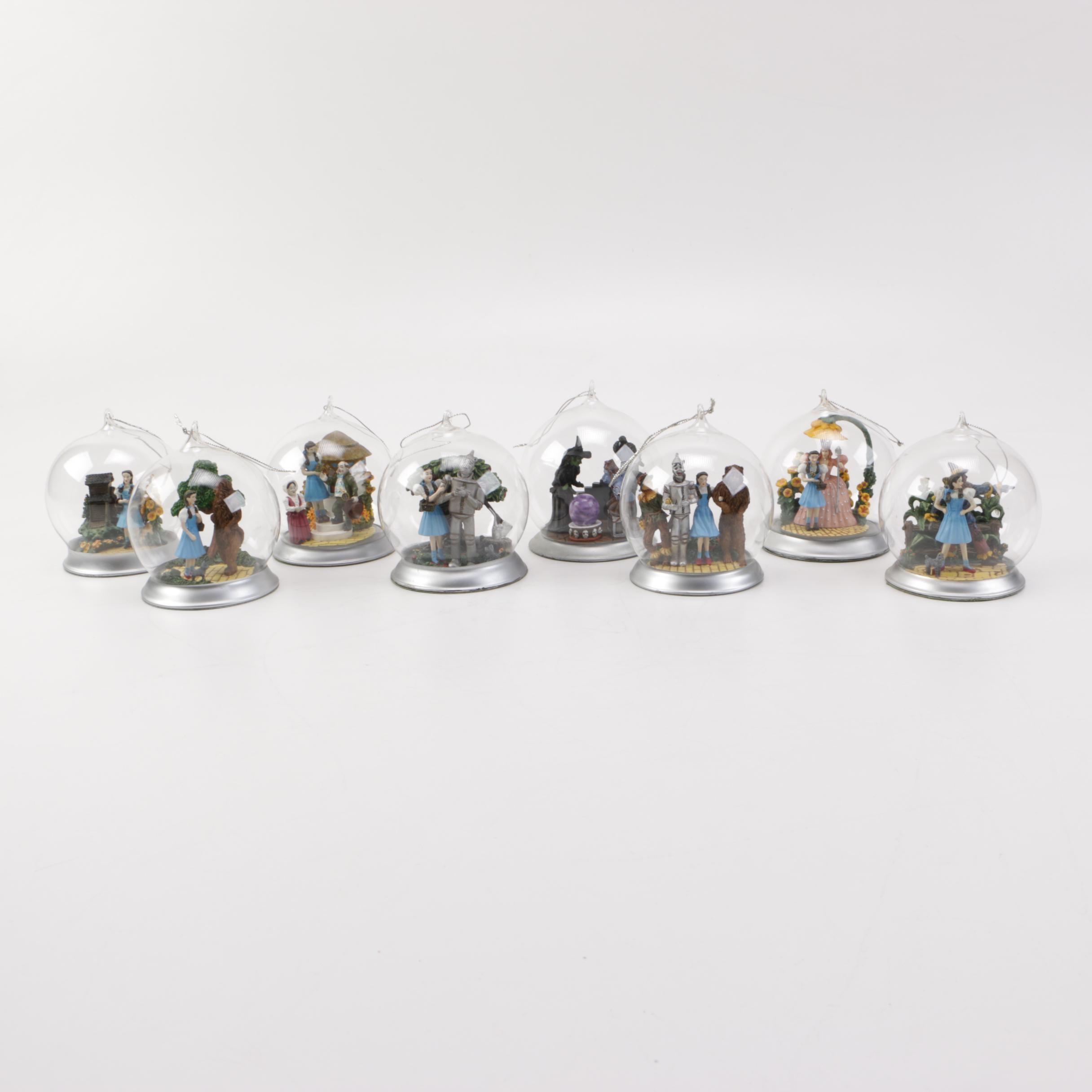 Bradford Editions Wizard of Oz Globe Ornaments