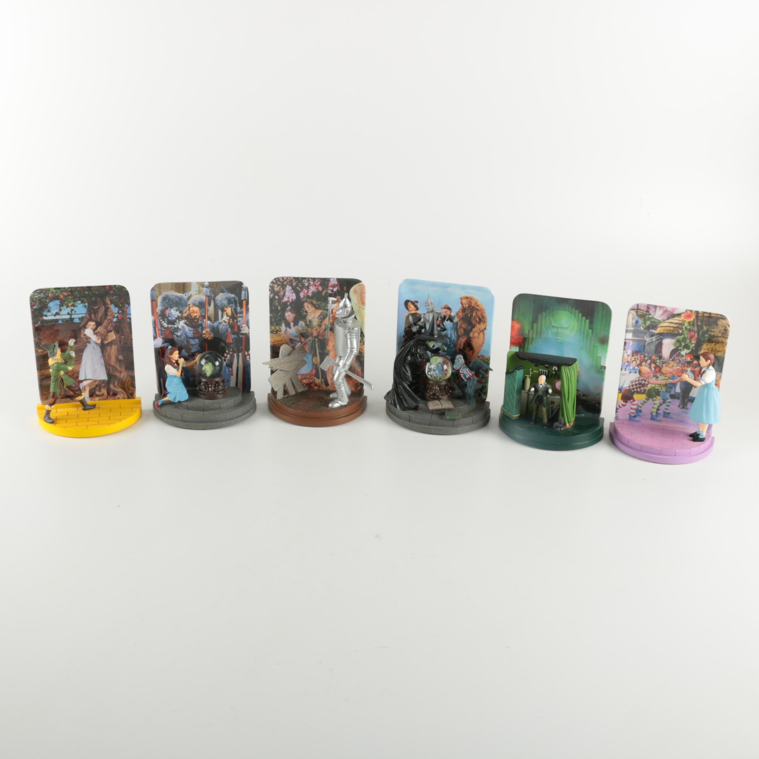 Bradford Exchange Limited Edition Wizard of Oz Decorative Plates