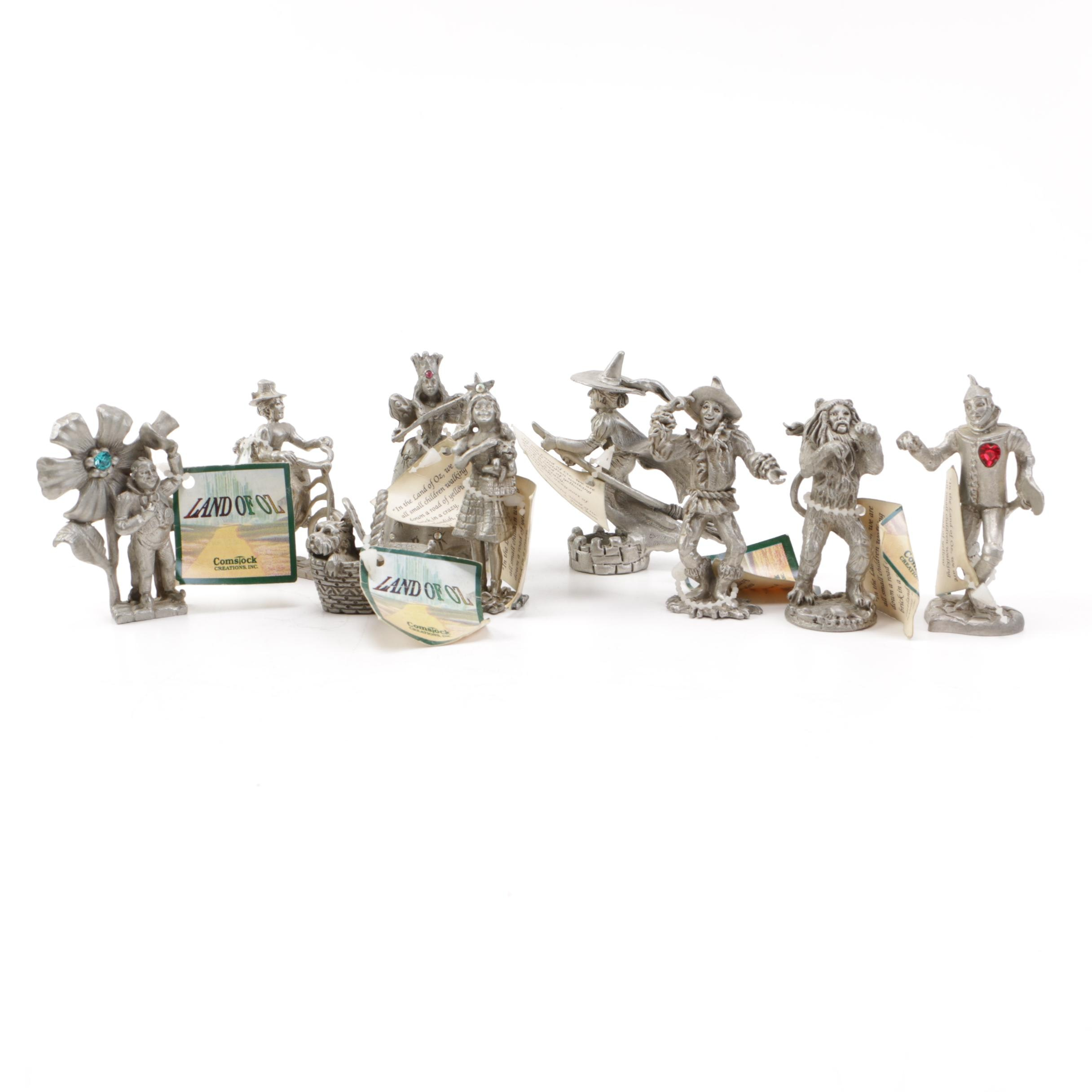 Comstock Creations Pewter Land of Oz Figurines
