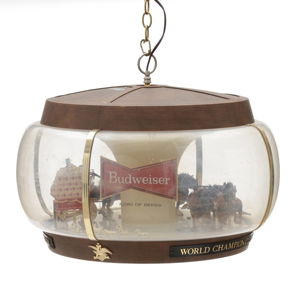 Budweiser Clydesdales Ceiling-Hanging Display