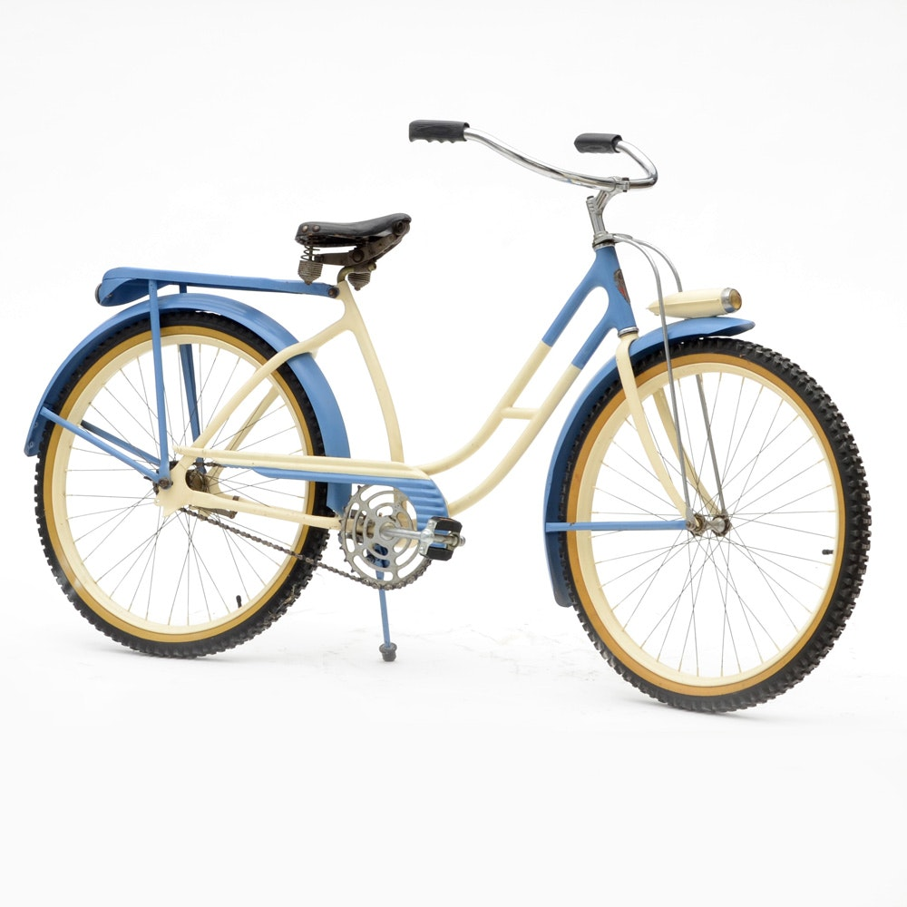 """1940s """"Western Flyer"""" Girls Bicycle"""