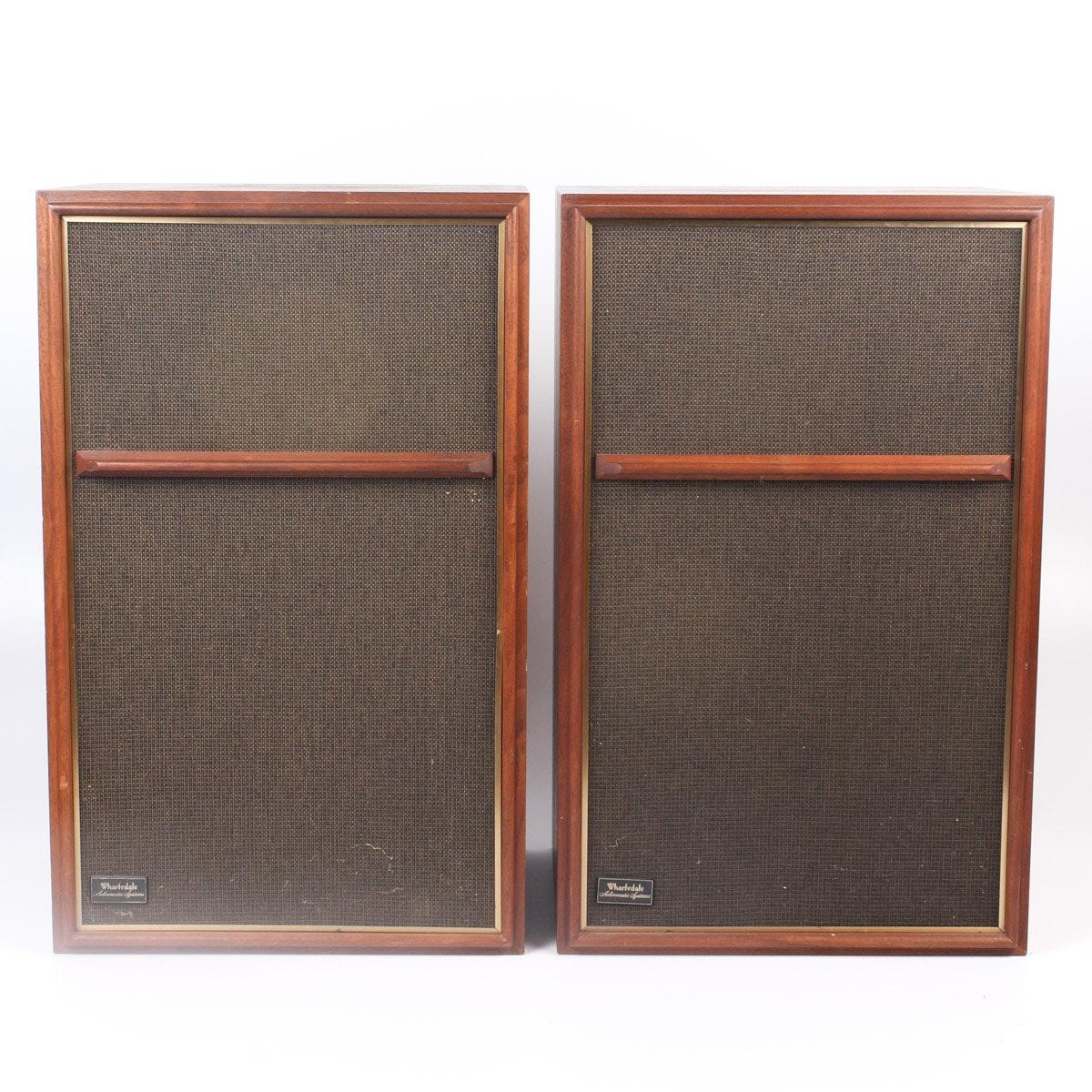 Wharfedale W60E Achromatic Speakers