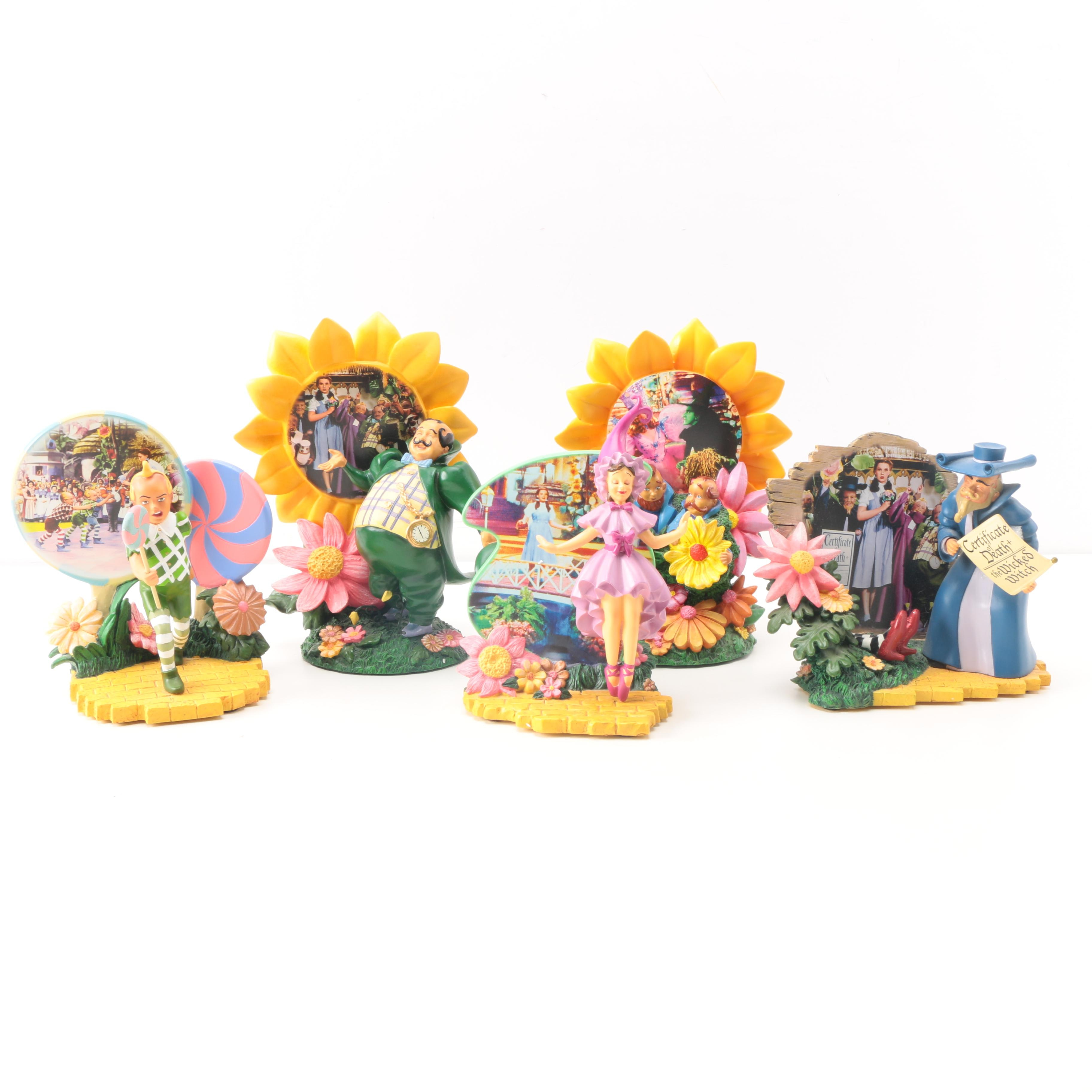 Bradford Exchange Limited Edition Beyond The Rainbow Resin Figurines