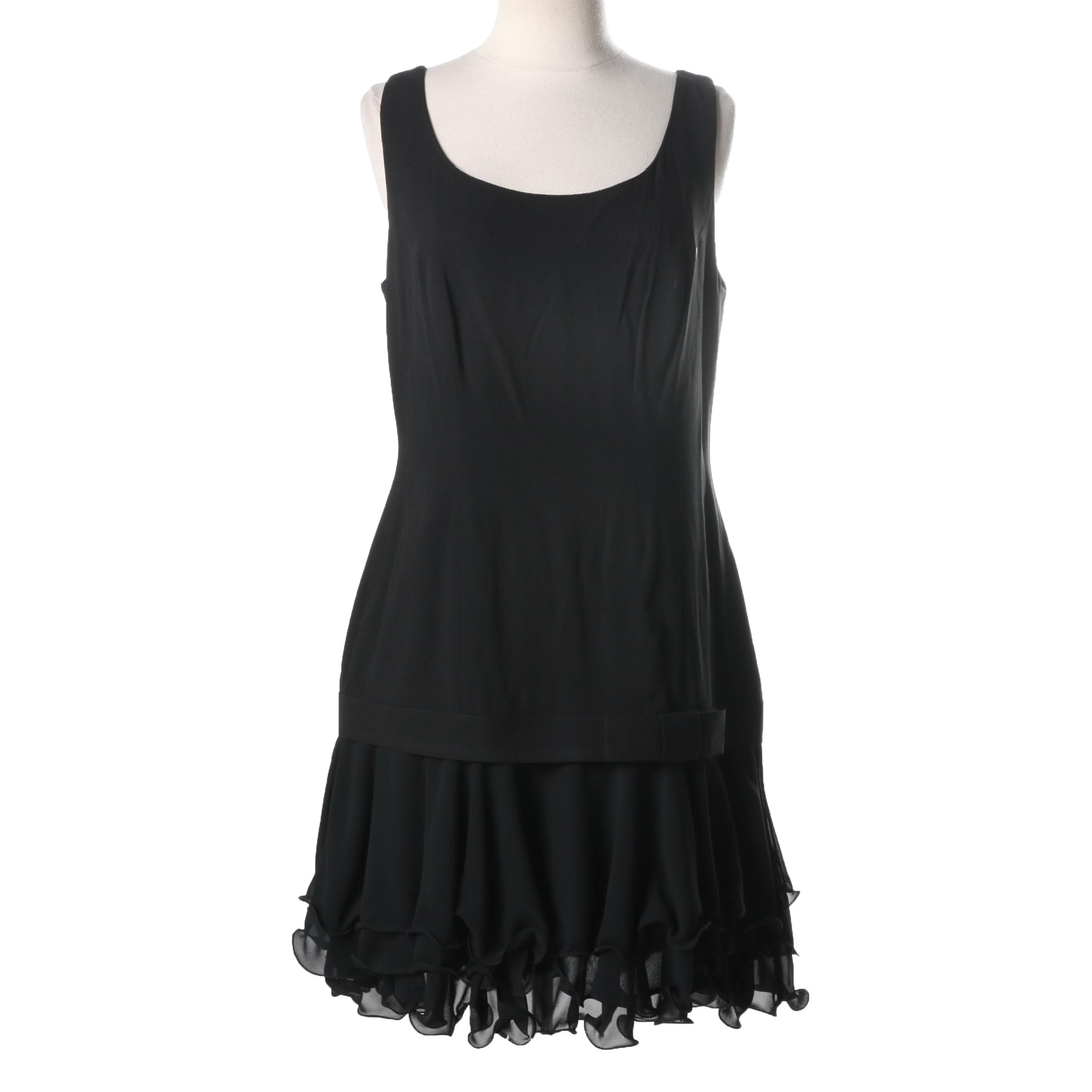 Mascara Black Cocktail Dress