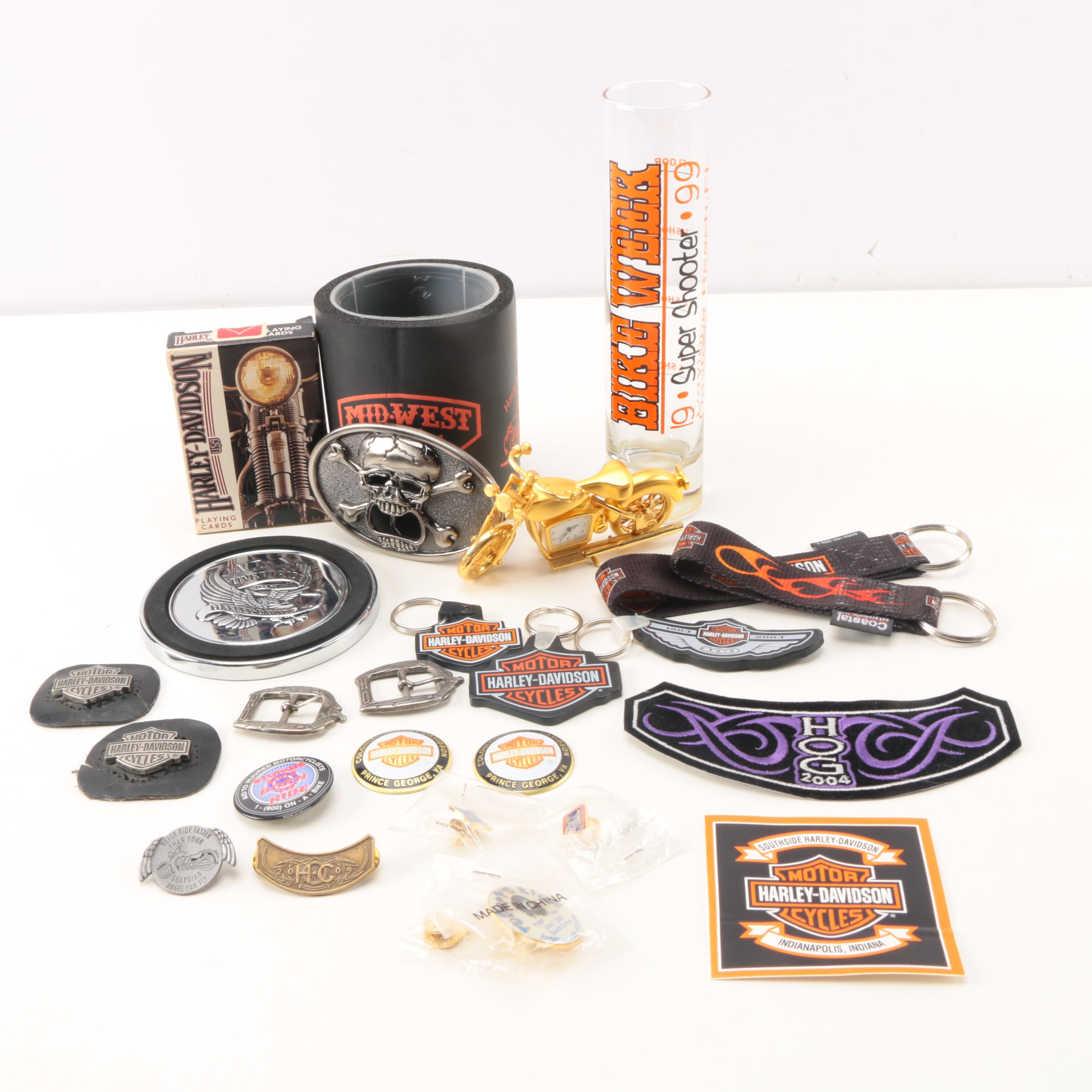 Harley Davidson Branded Items
