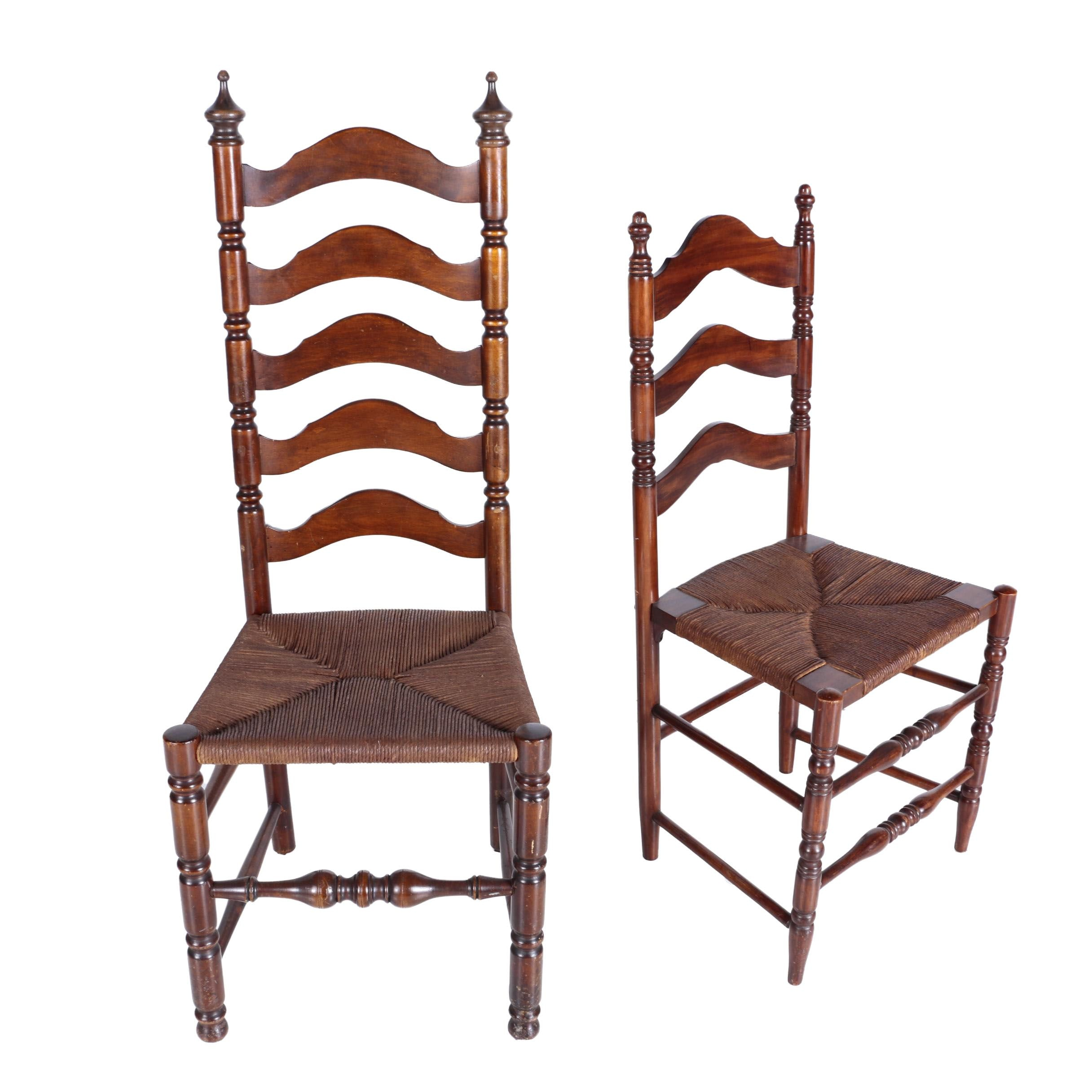 Two Ladderback Chairs