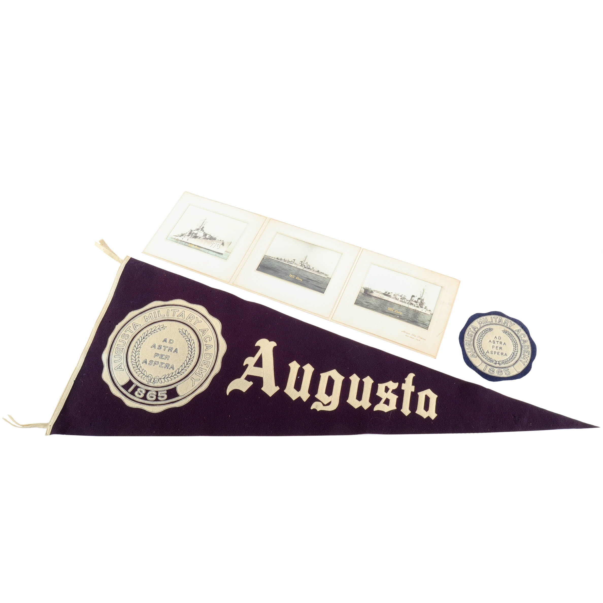 Augusta Military Academy Pennant and Patch