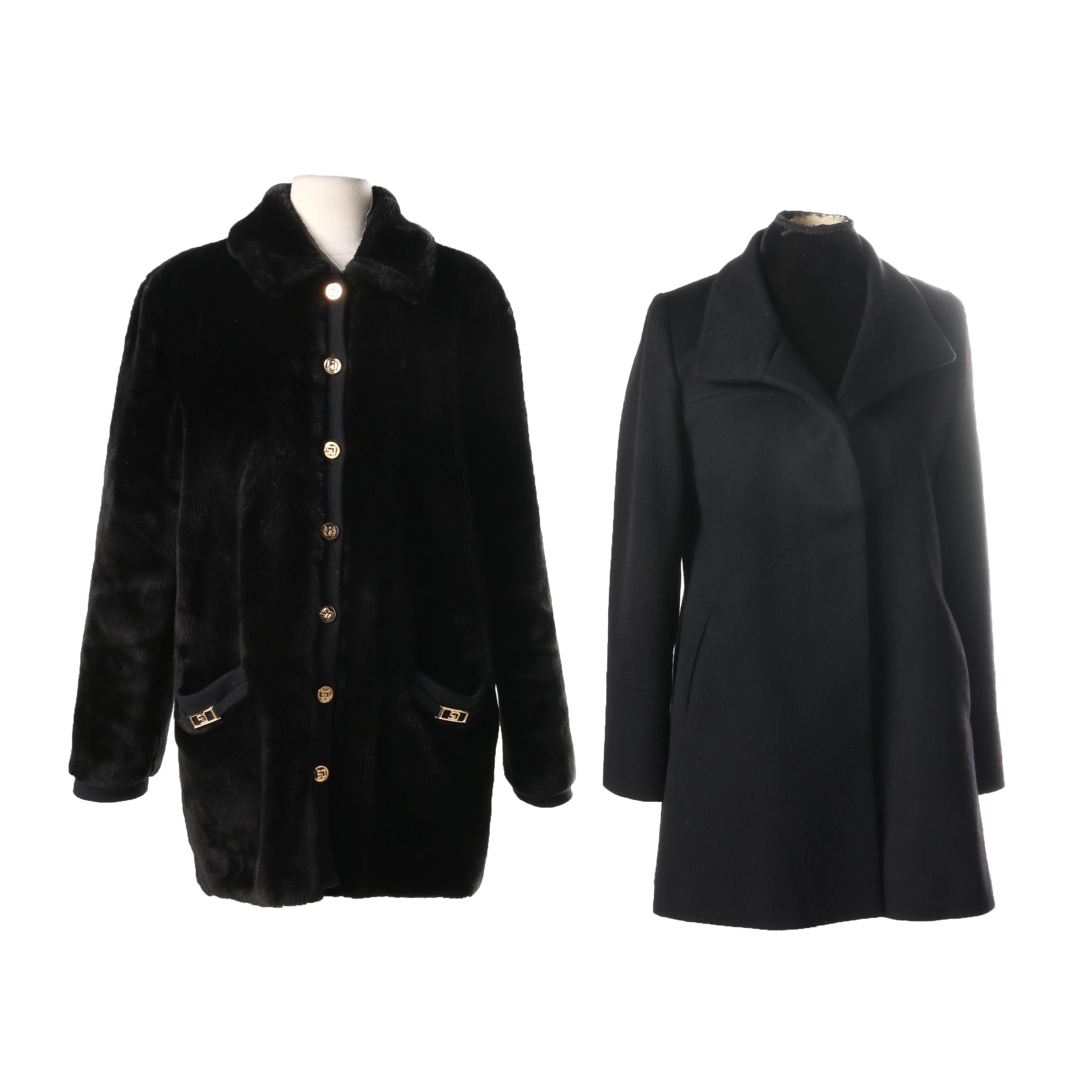 Women's Coats Including St. John and Fleurette