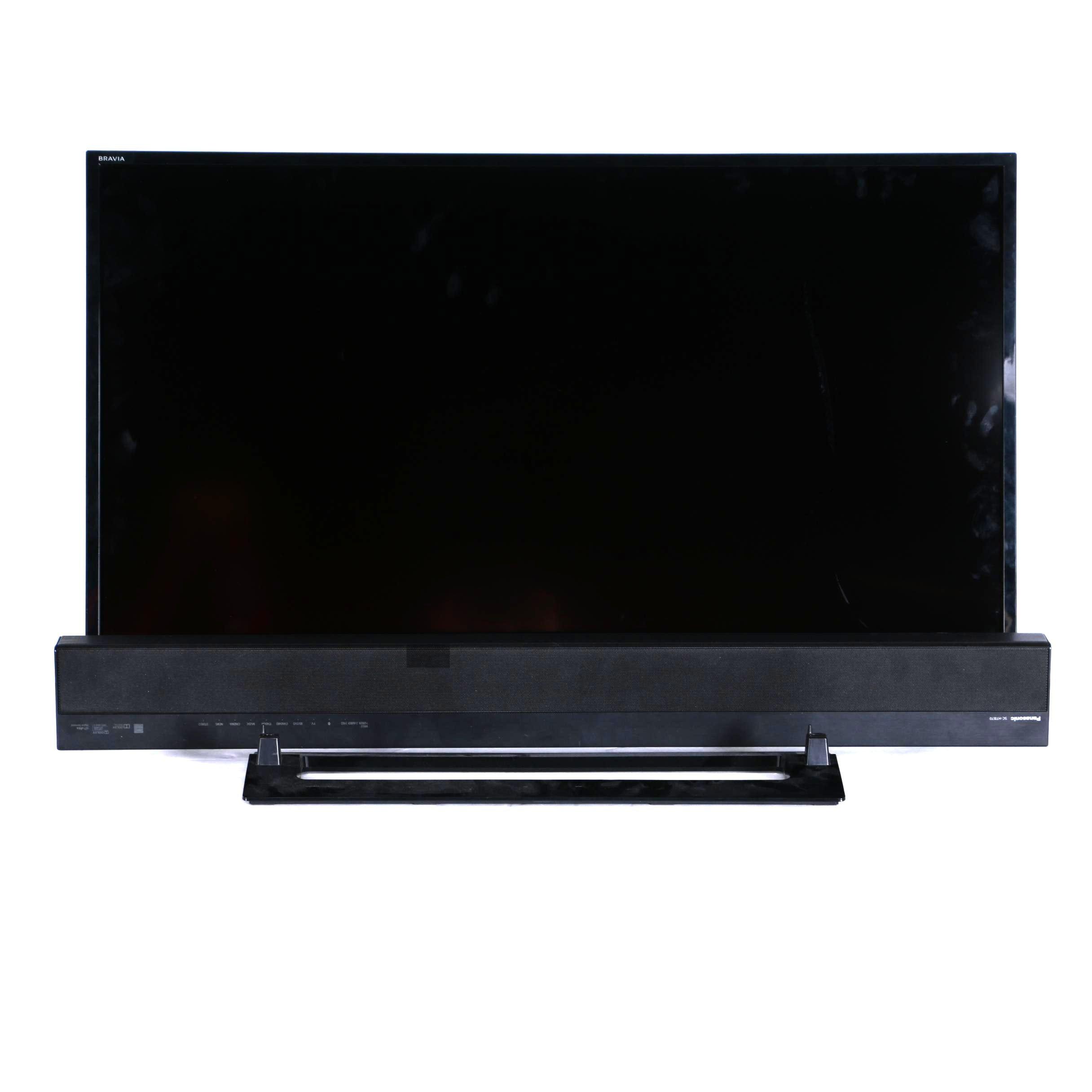"Sony 40"" LED HDTV and Panasonic Sound Bar"
