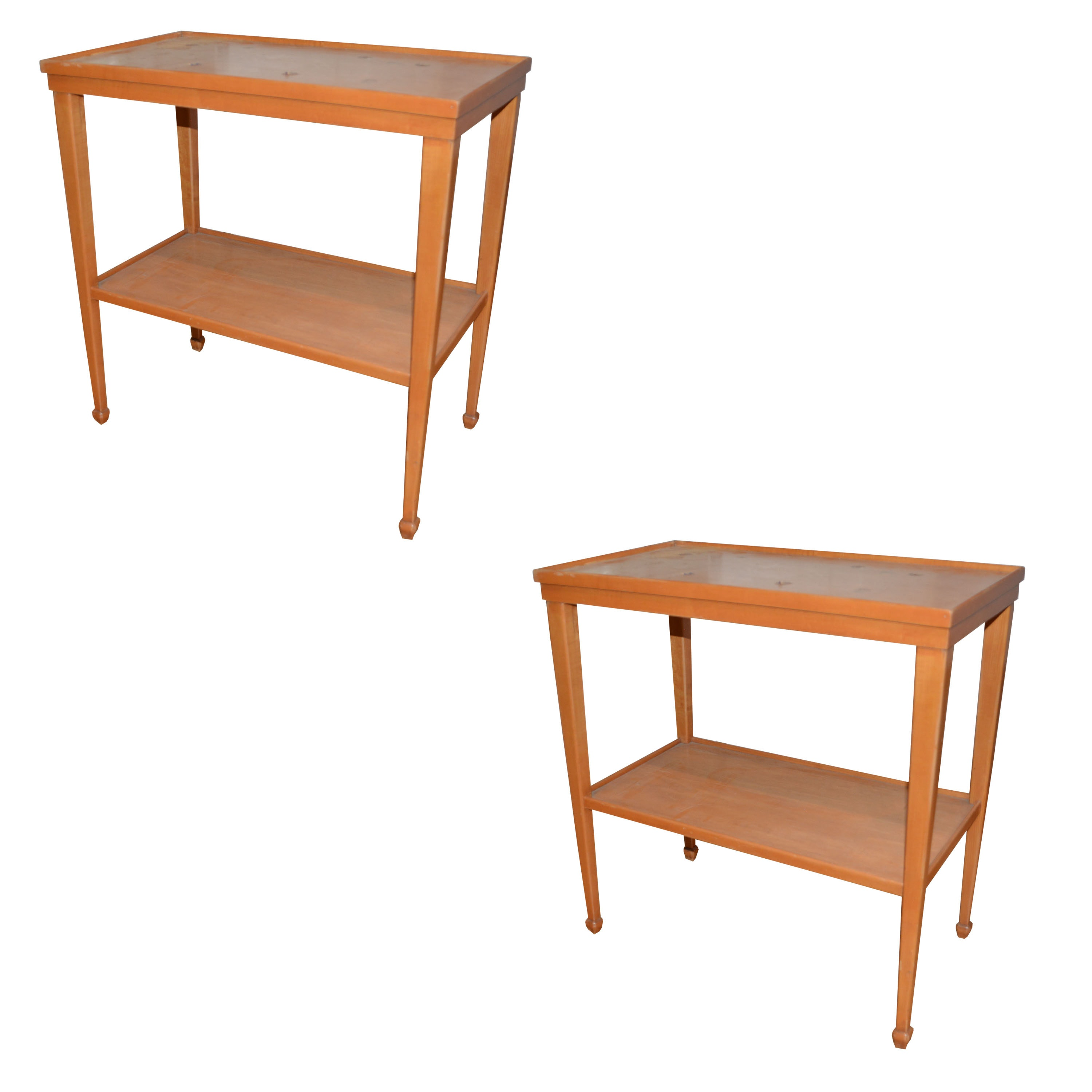 Pair of Mid-Century Side Tables by Trutype