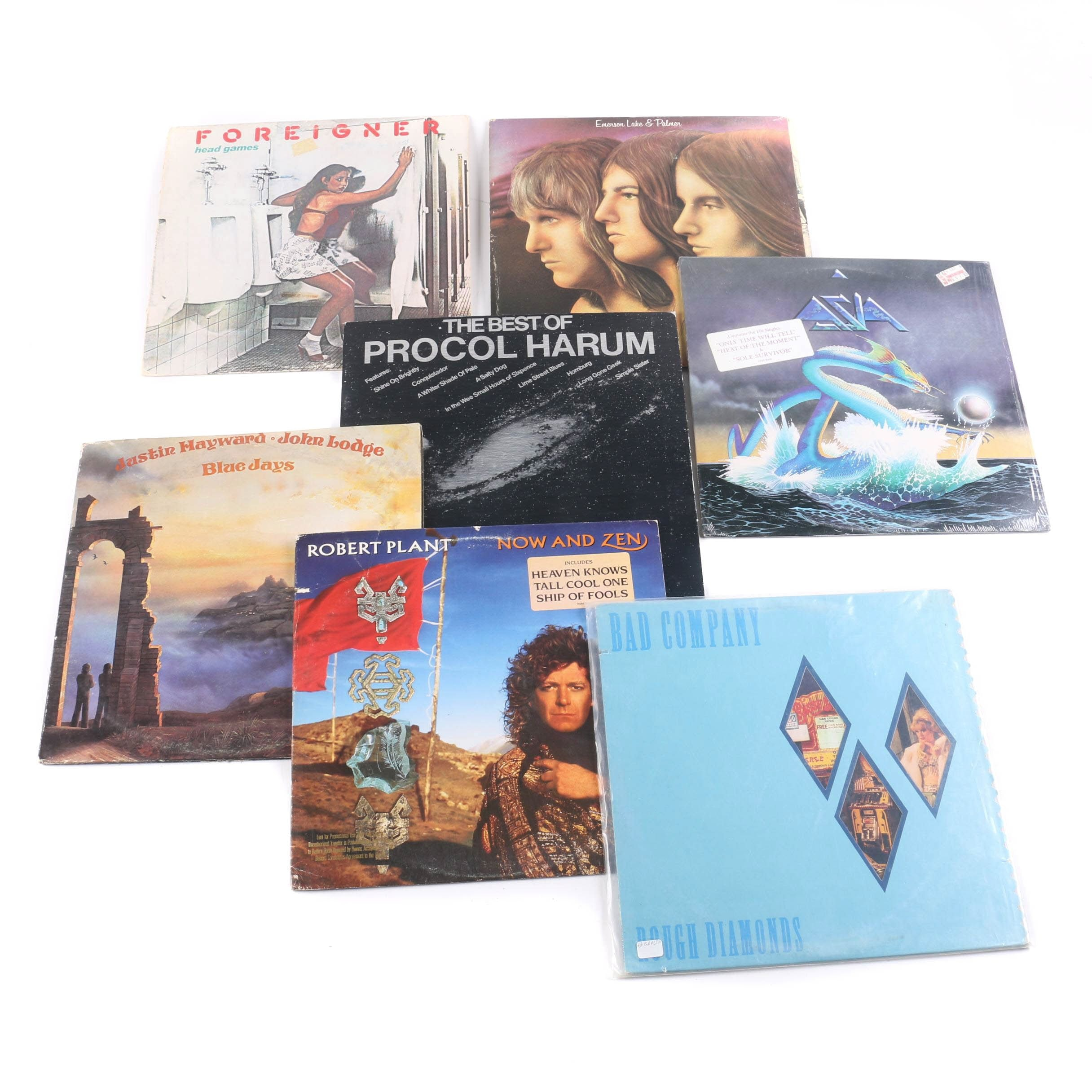 Robert Plant and Other Classic Rock LPs