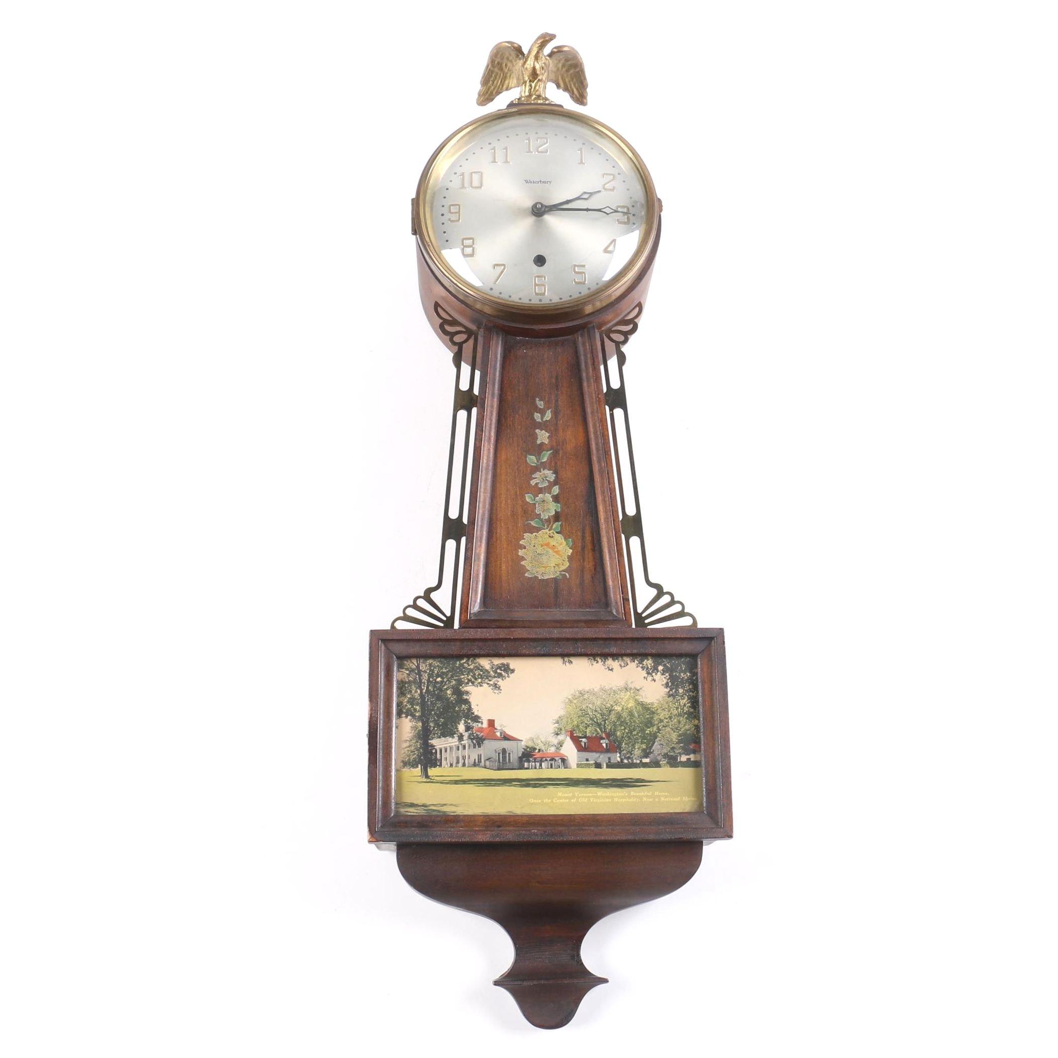 Waterbury Banjo Wall Clock