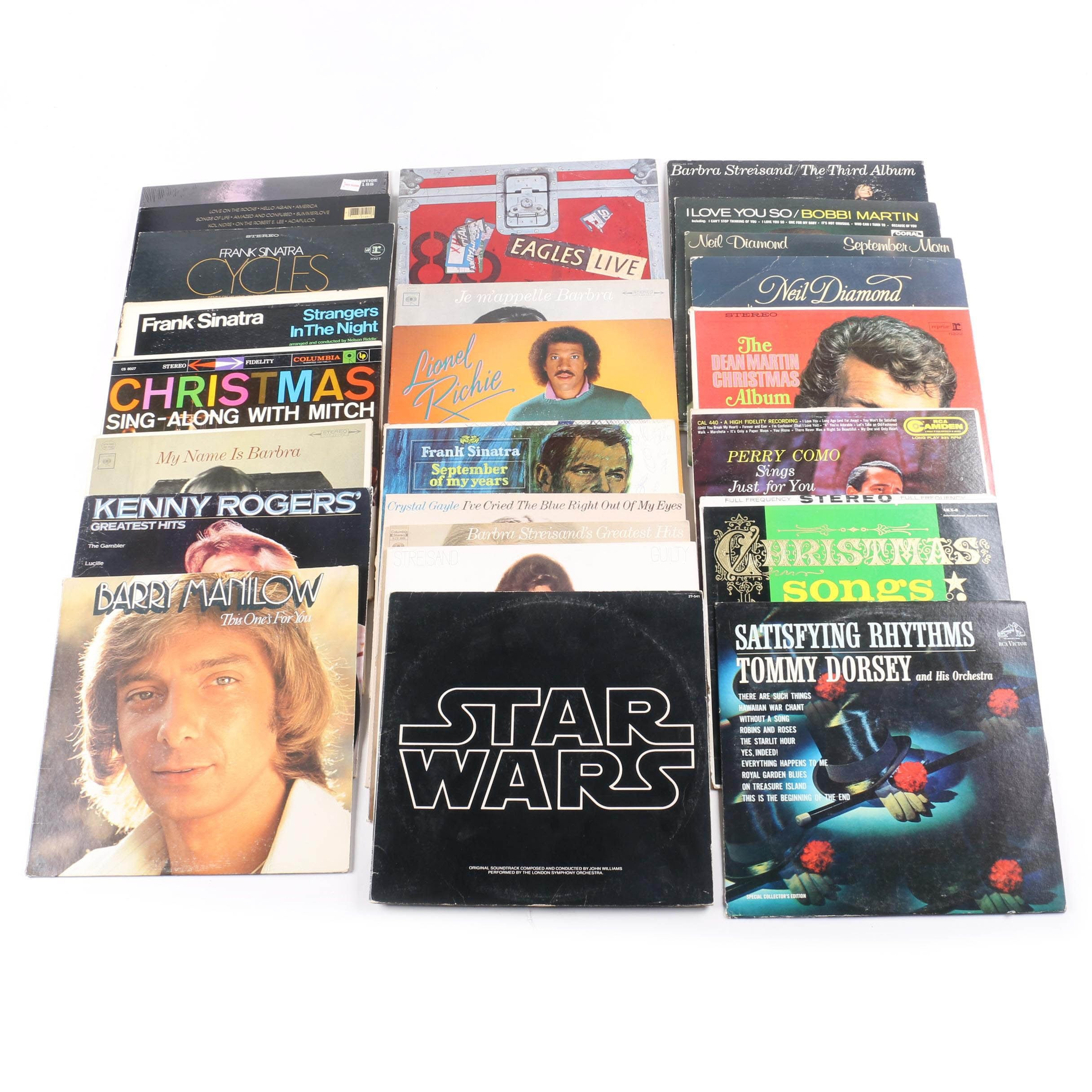 "John Coltrane, Sinatra, ""Star Wars,"" Other Vintage LPs"