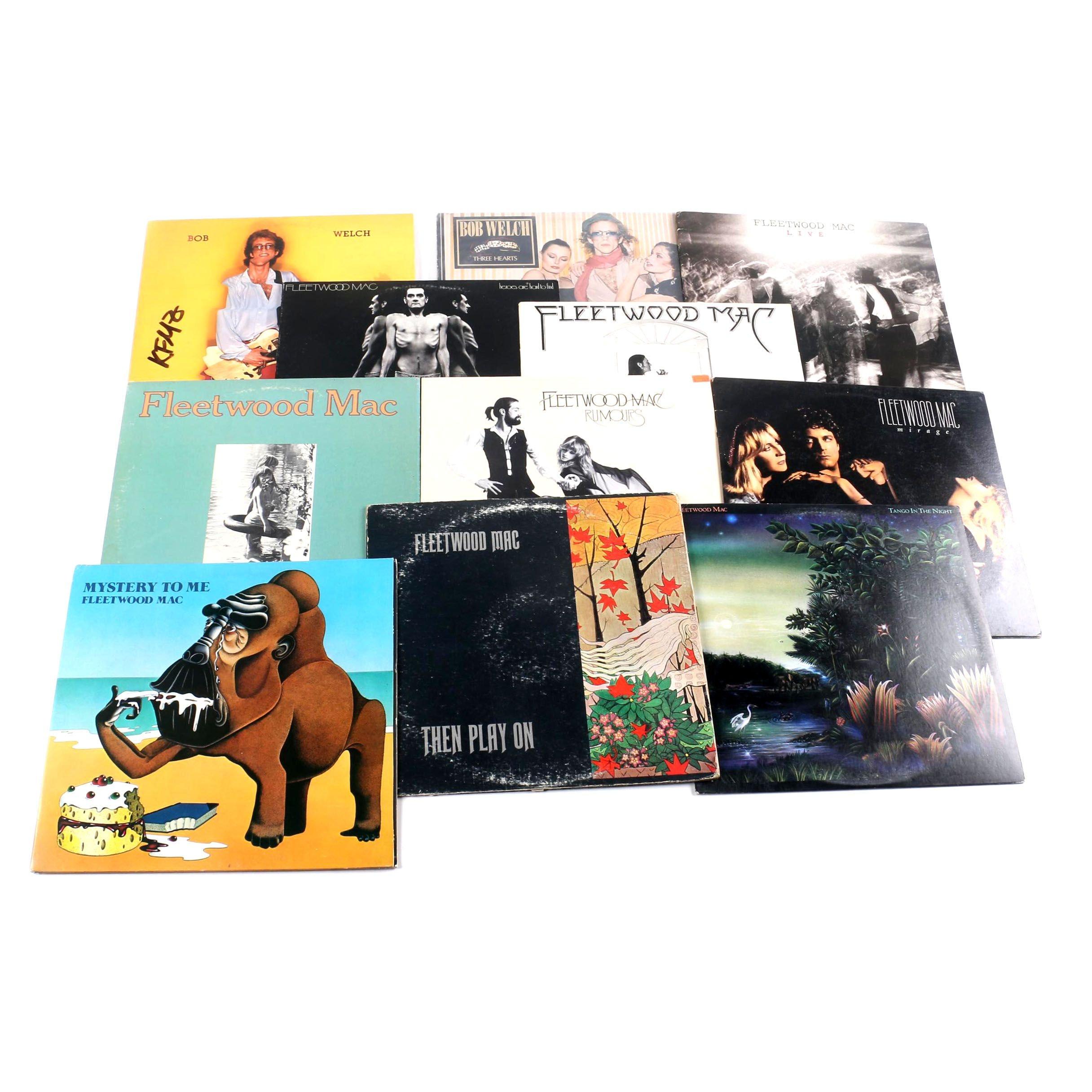 Fleetwood Mac and Bob Welch LPs