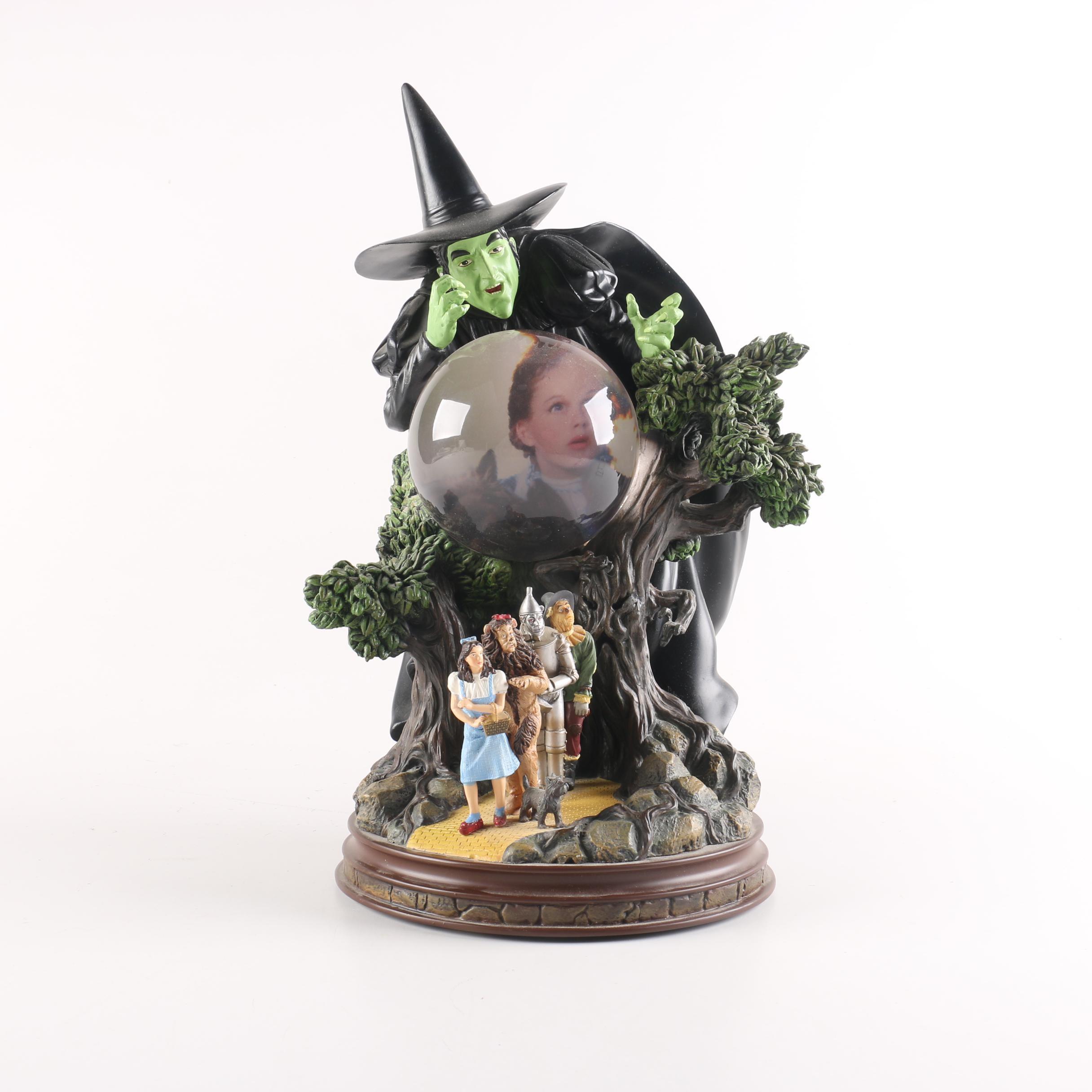 "Bradford Exchange Wizard of Oz  ""I'll Get You My Pretty"" Figurine"