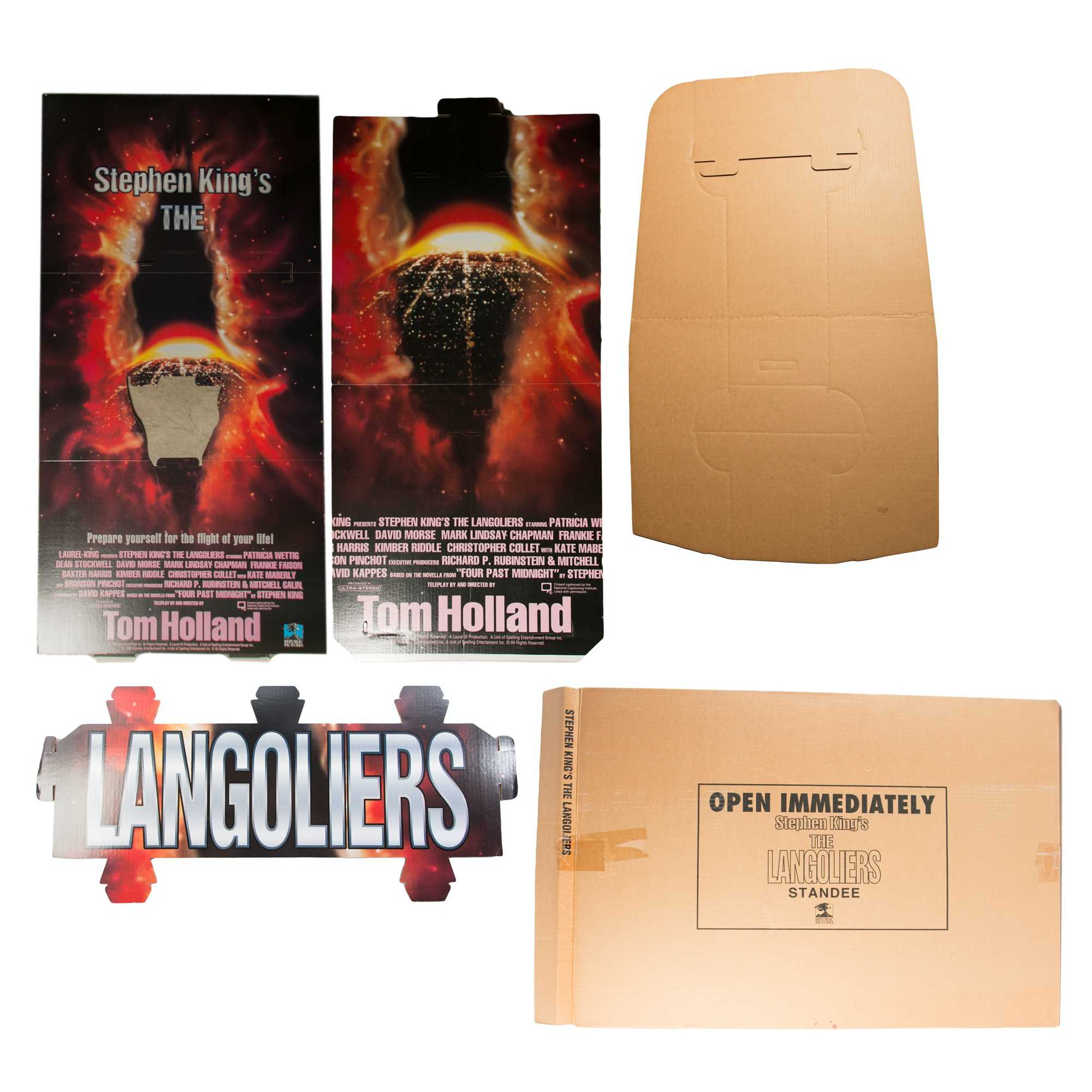 """Steven King's """"The Langoliers"""" Pop-Up Movie Poster"""