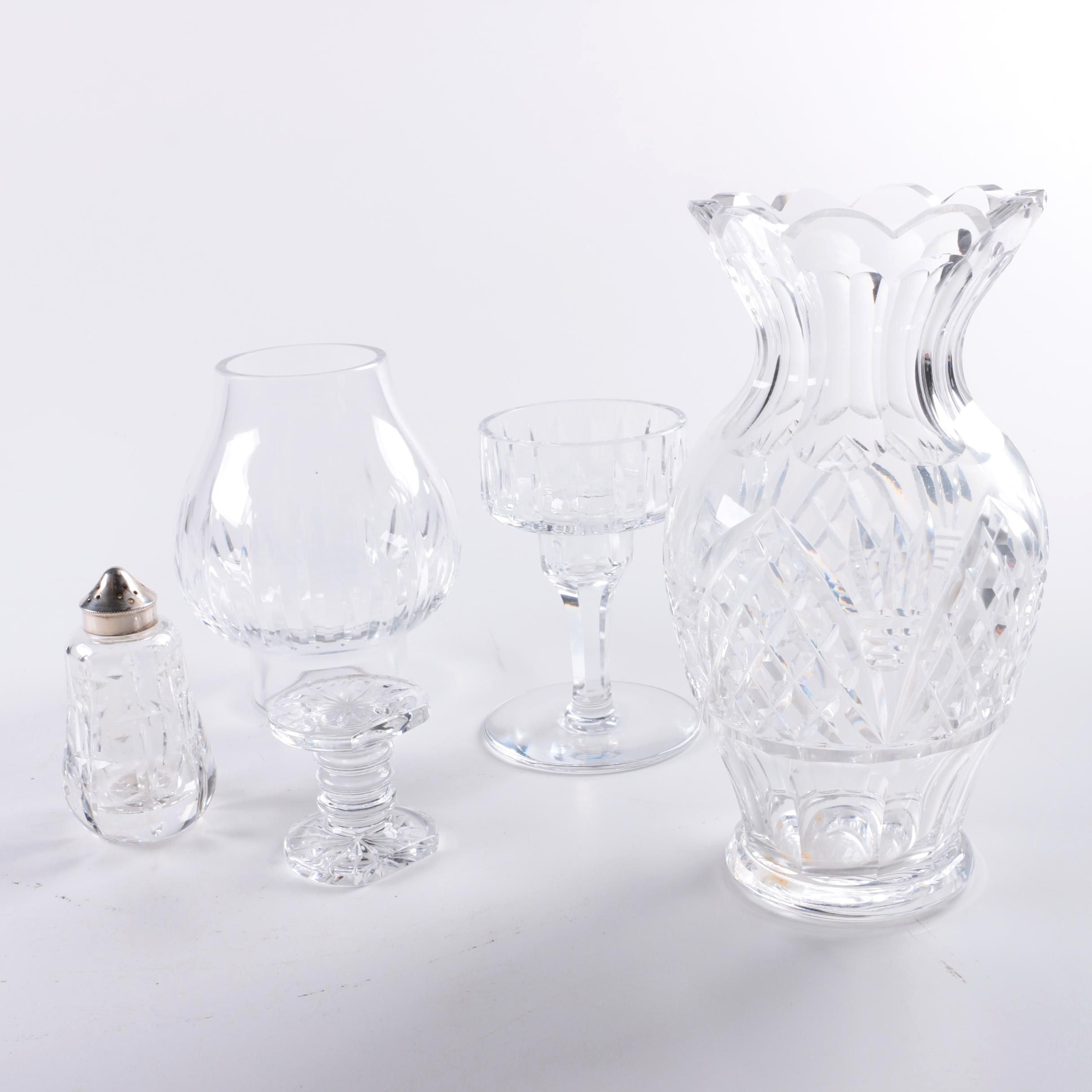 Assortment of Crystal Giftware Décor Including Waterford