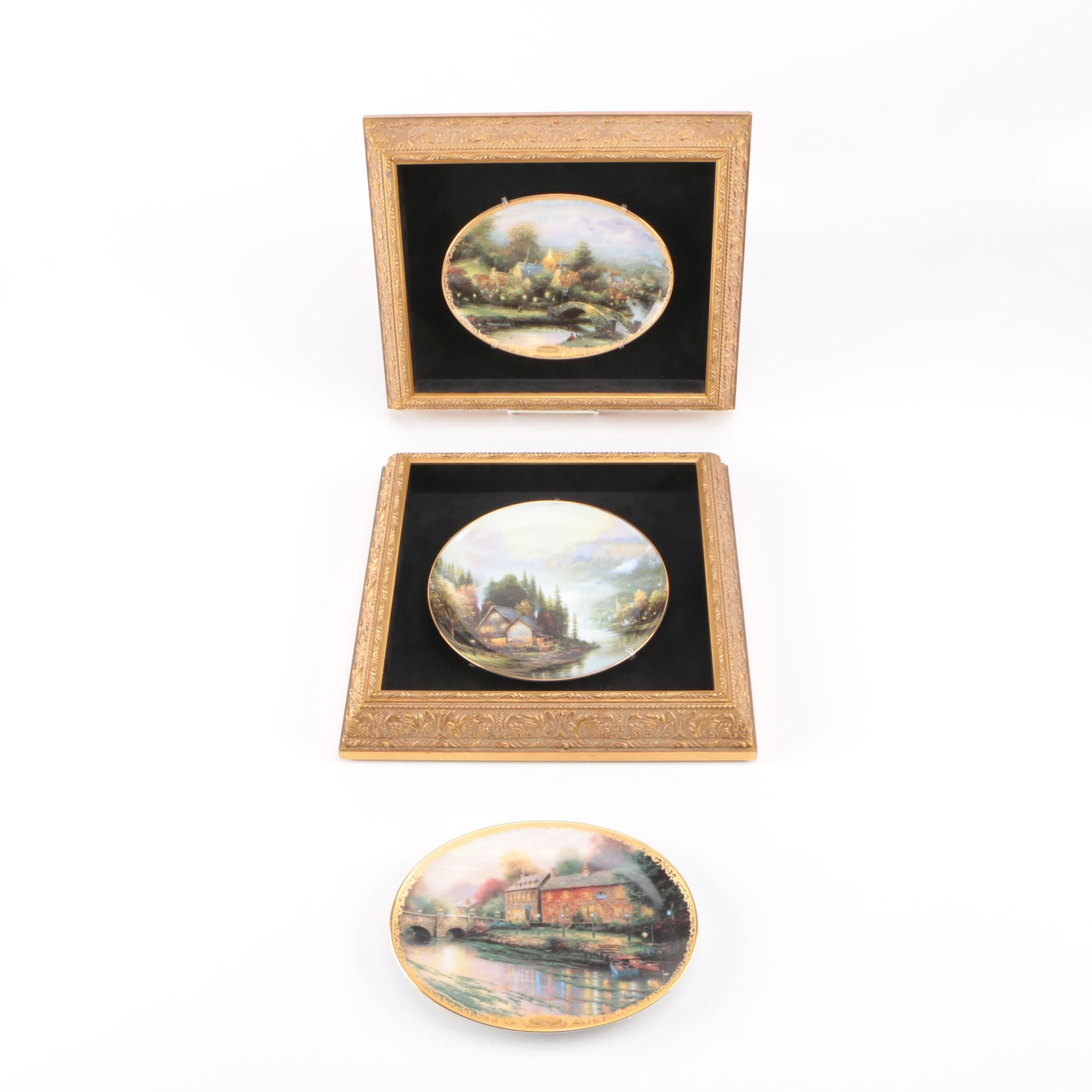 Thomas Kinkade Decorative Porcelain Plates
