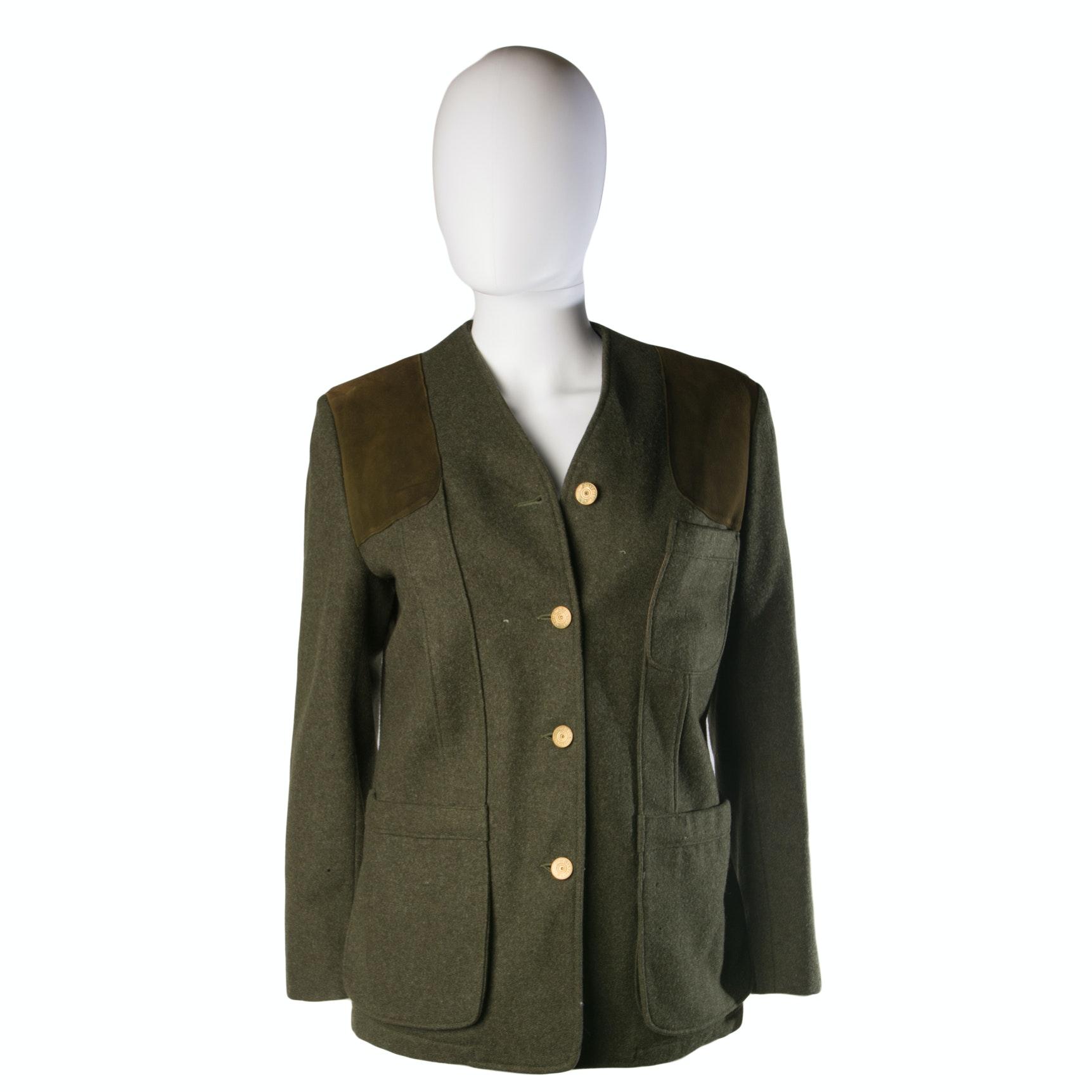 Vintage Abercrombie & Fitch Riding Jacket