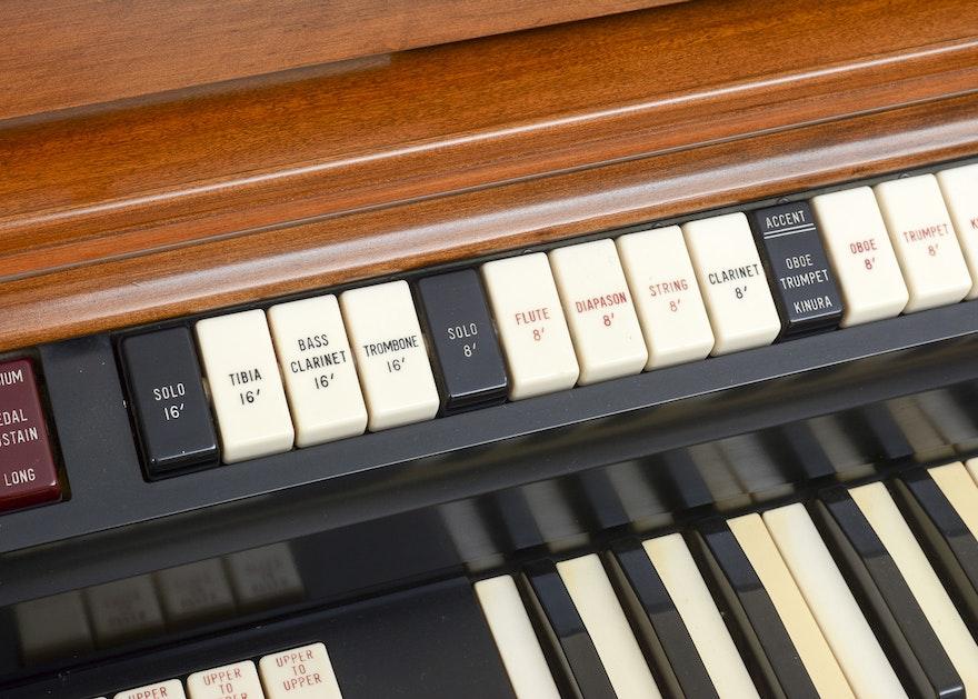 Wurlitzer 4300 Multi Matic Percussion Organ Ebth