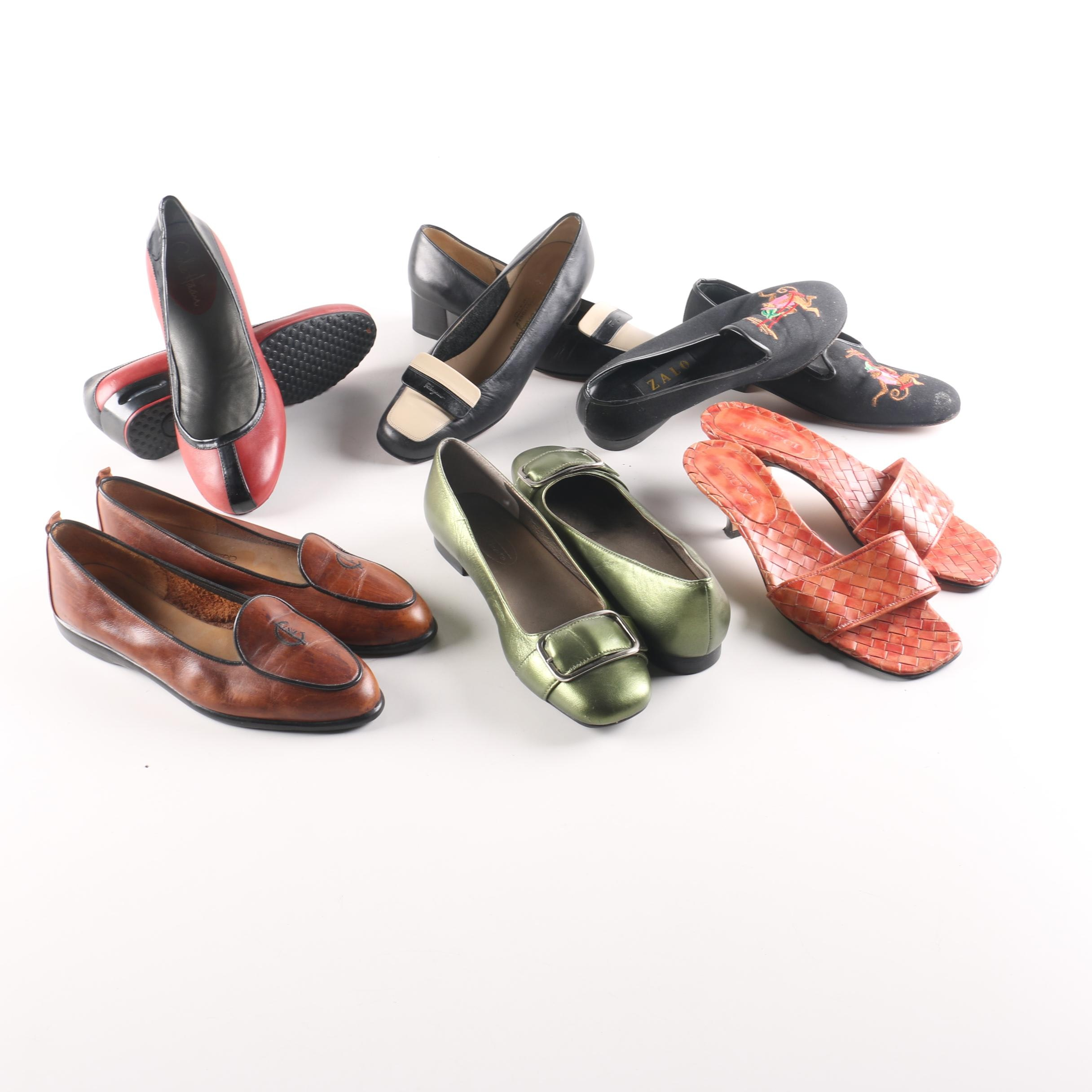 Women's Shoes Including Calvin Klein and Salvatore Ferragamo