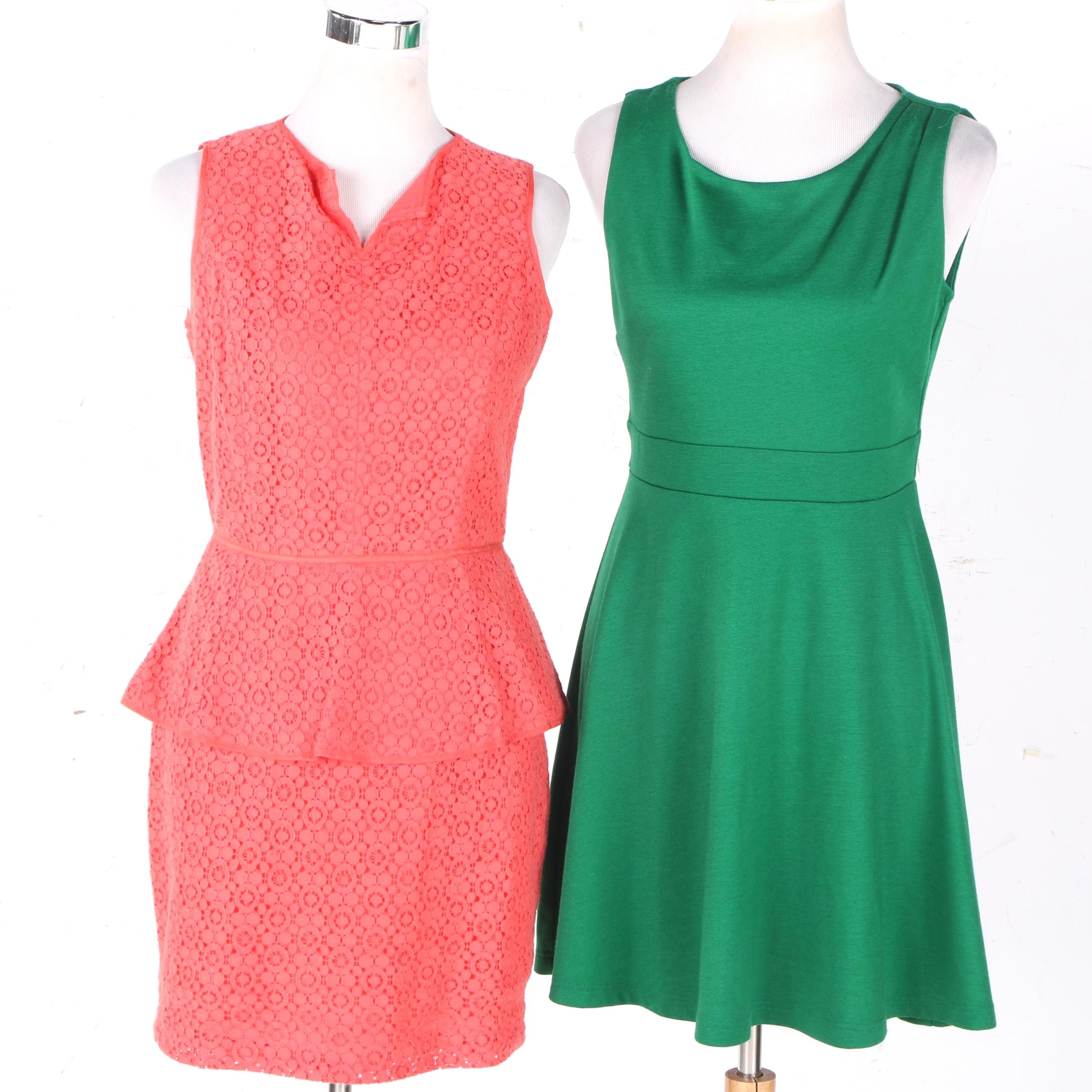 Women's Max Studio and Valerie Bertinelli Sleeveless Dresses