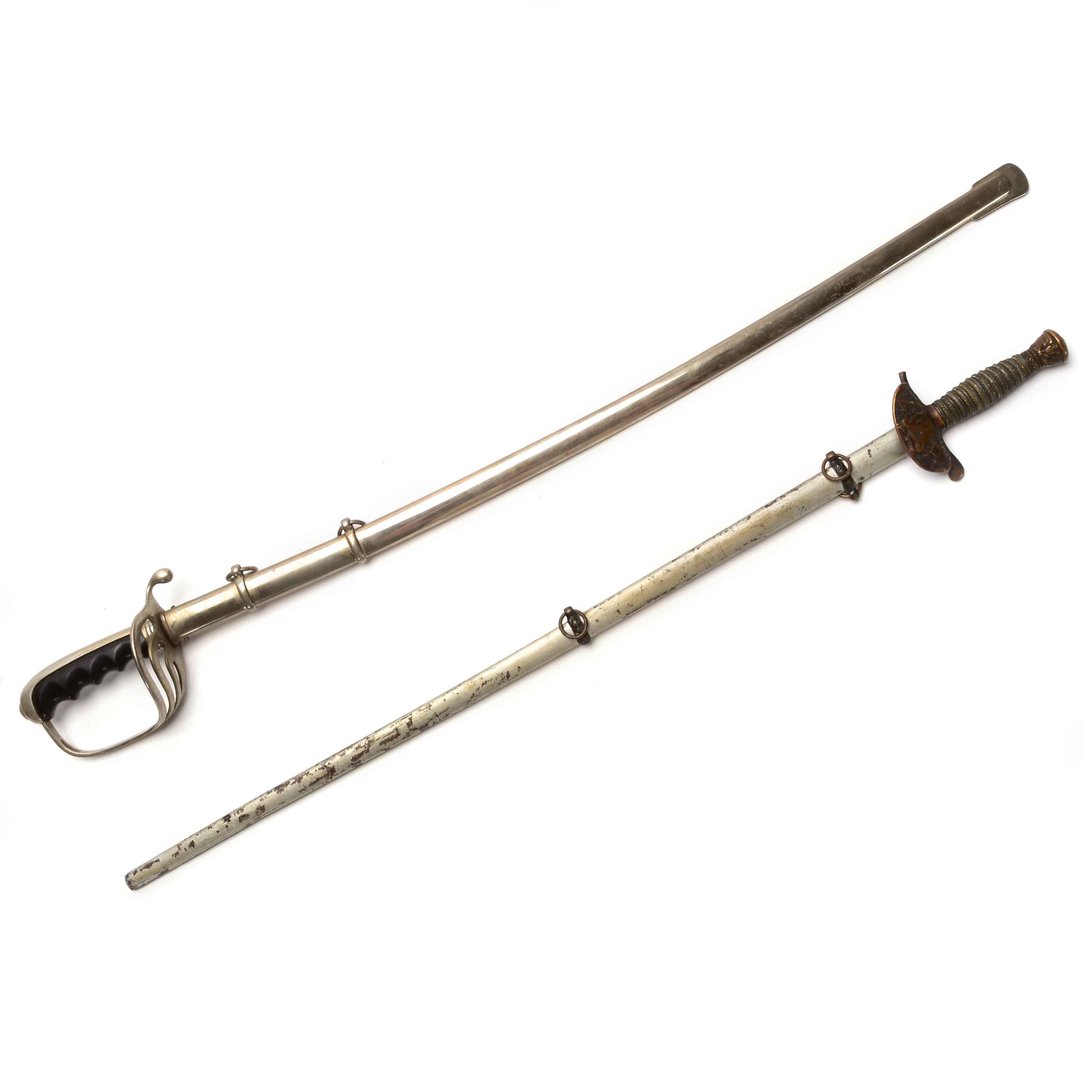 Pair of Vintage Dress Swords