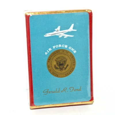 Sealed Deck of Gerald Ford Air Force One Playing Cards