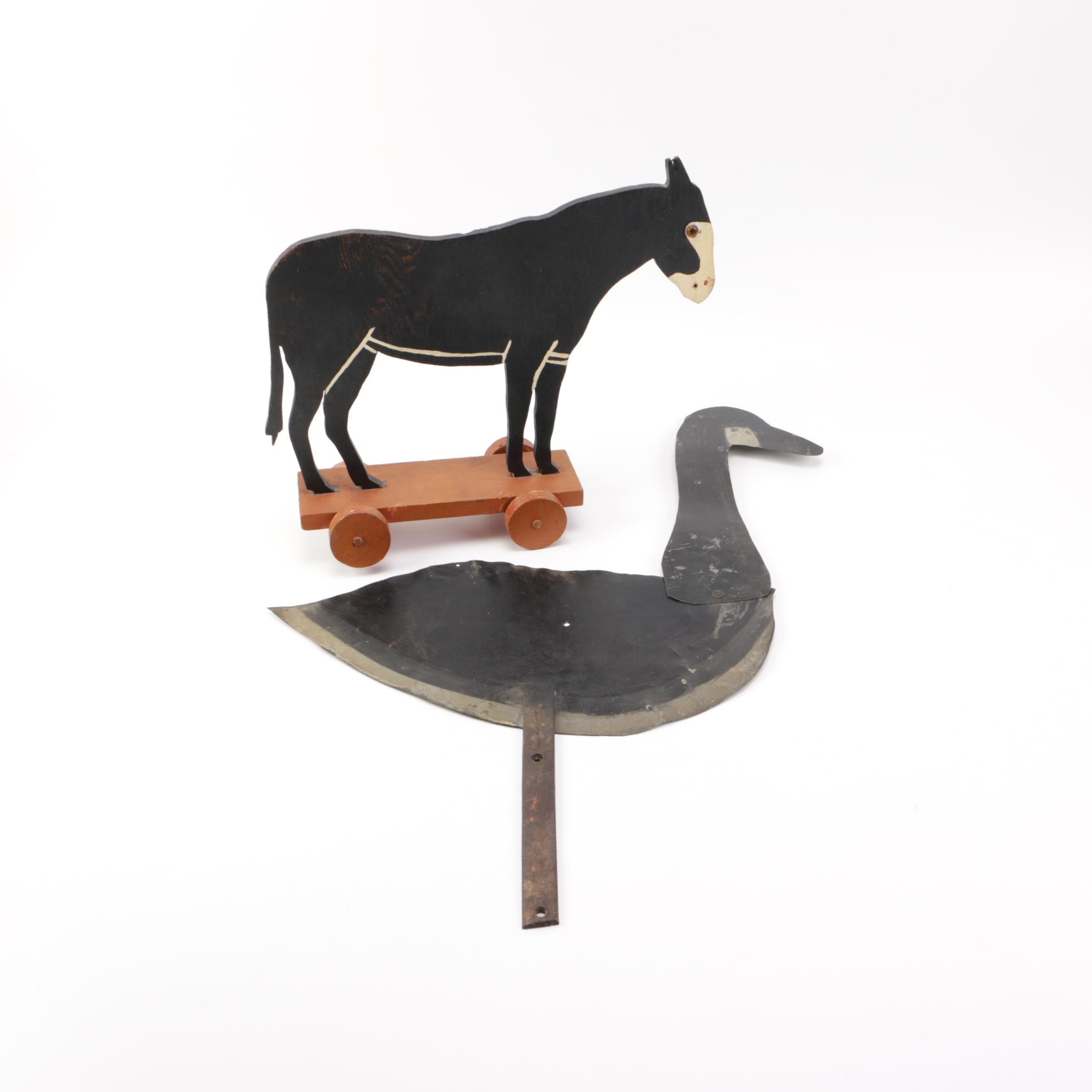 Pair of Country Decor Items