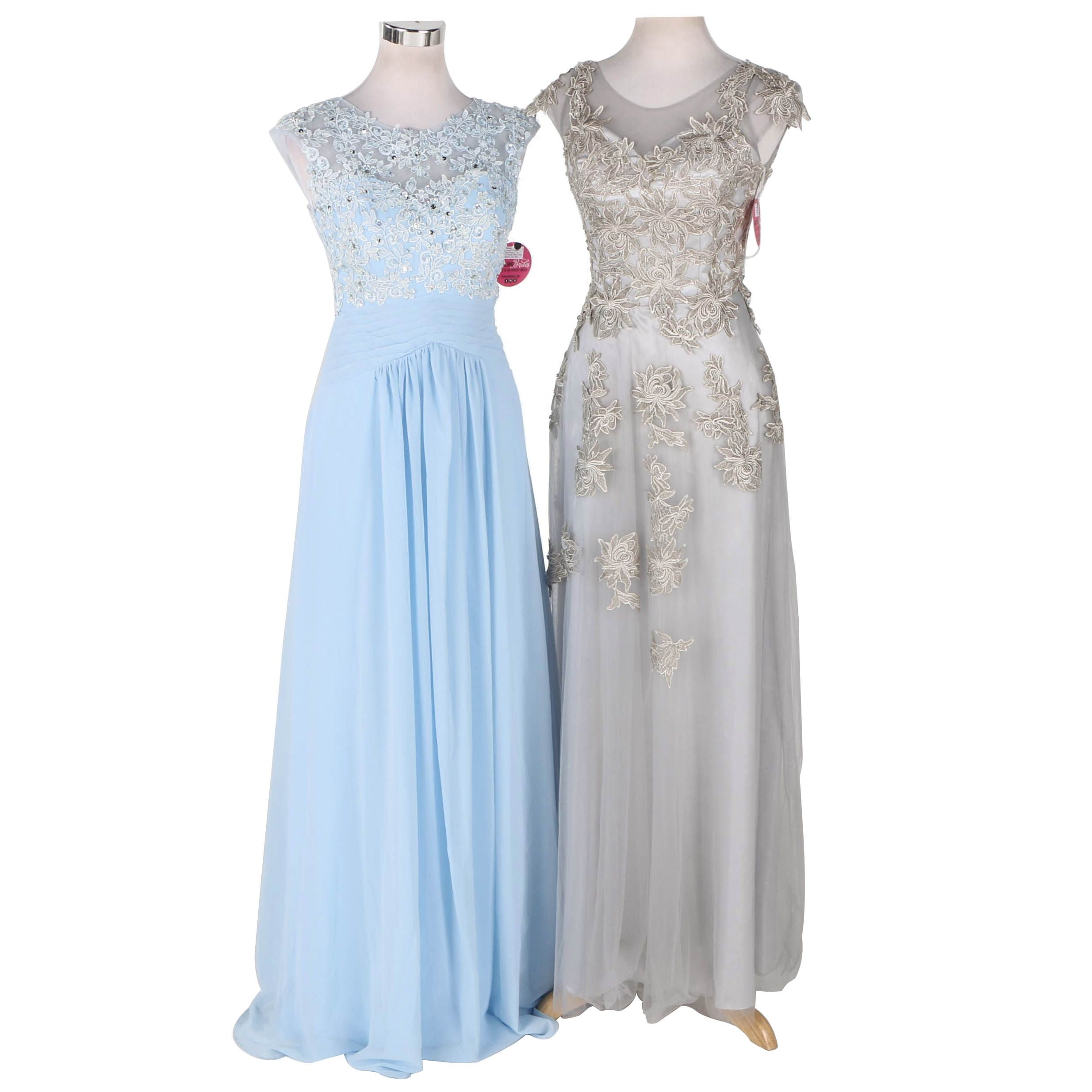 Pair of Women's Evening Dresses