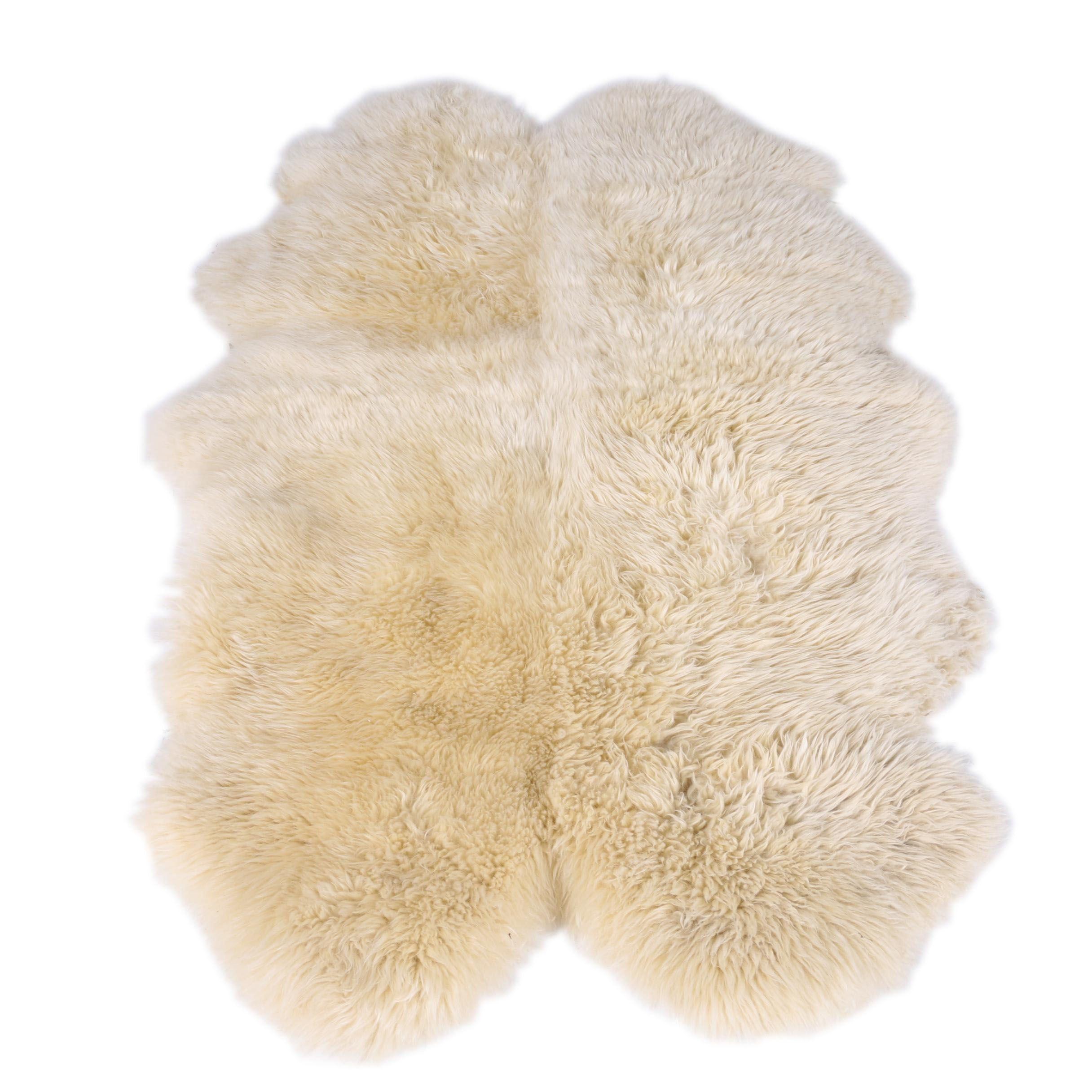Natural Sheepskin Accent Rug by Windward