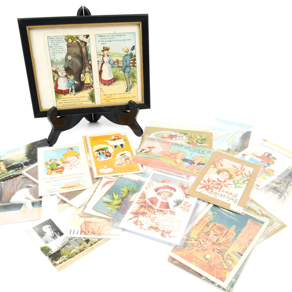 Vintage Postcards and Photographs