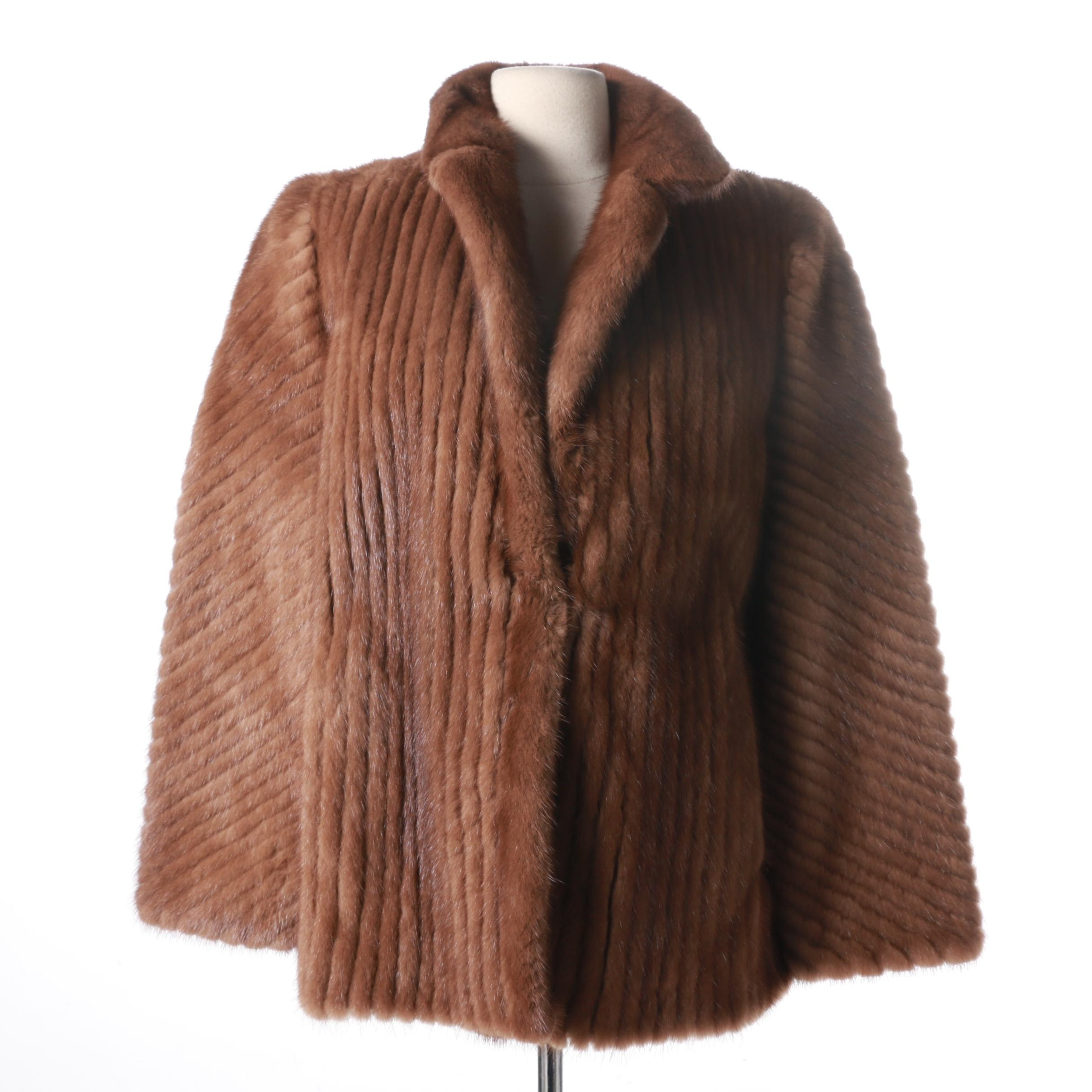 Saga Selected Mink Fur Coat