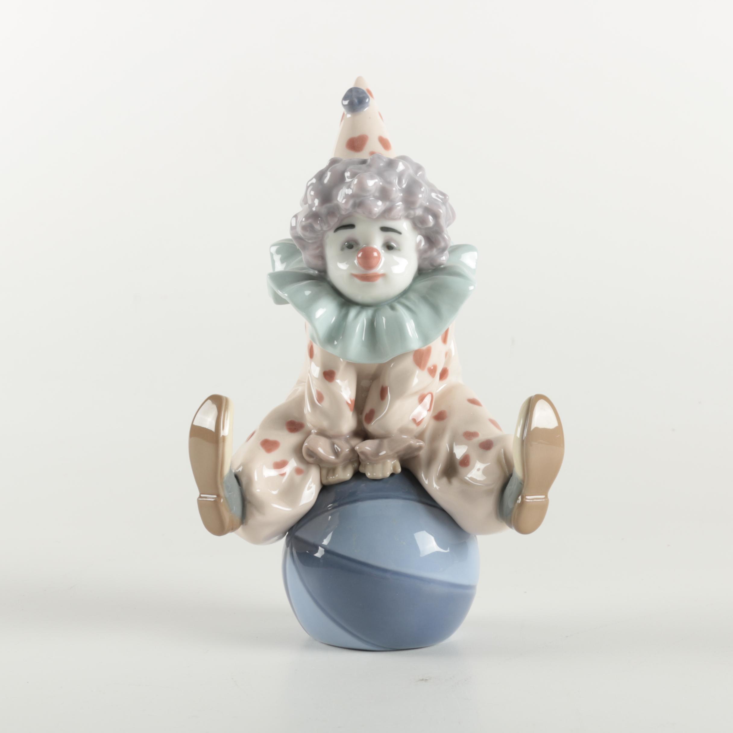 "Lladró ""Having A Ball"" Figurine"