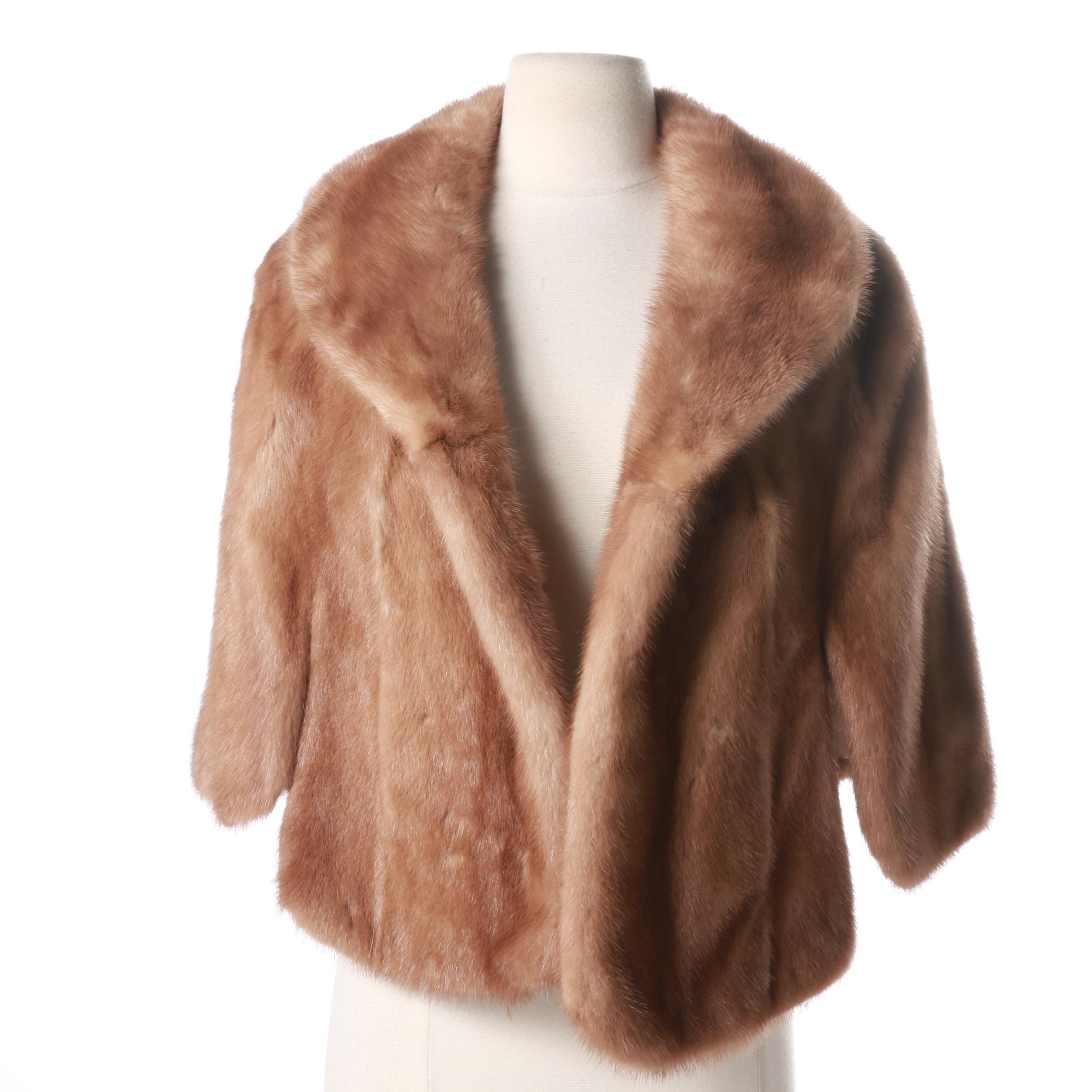 Vintage Shillito's Fur Salon Mink Jacket